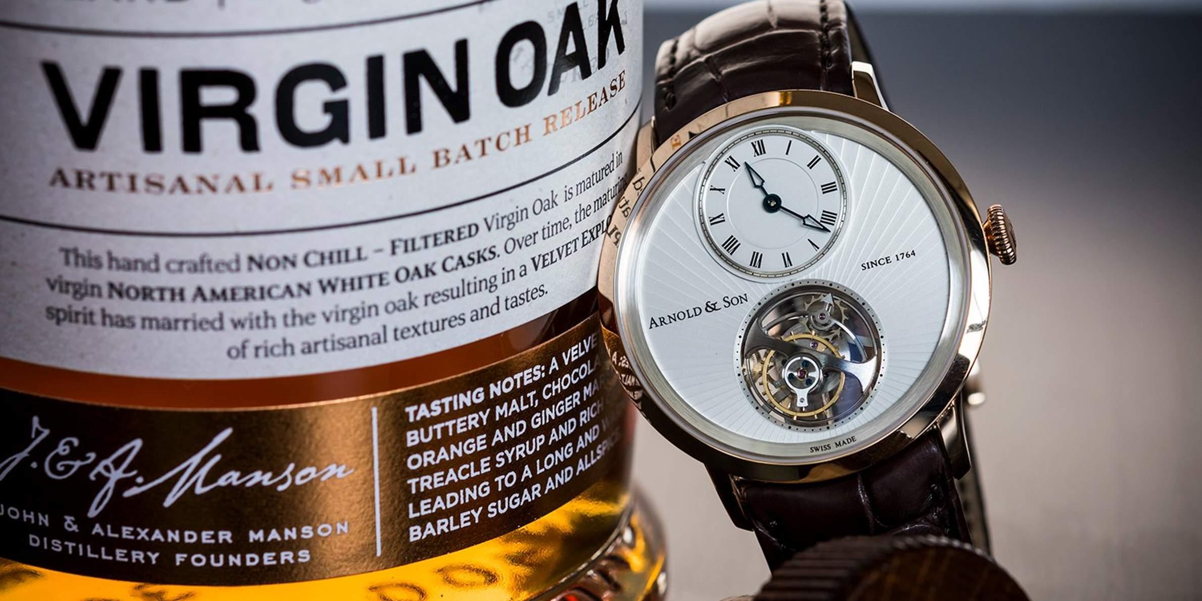 Arnold & Son Tourbillon with Single Malt Whisky