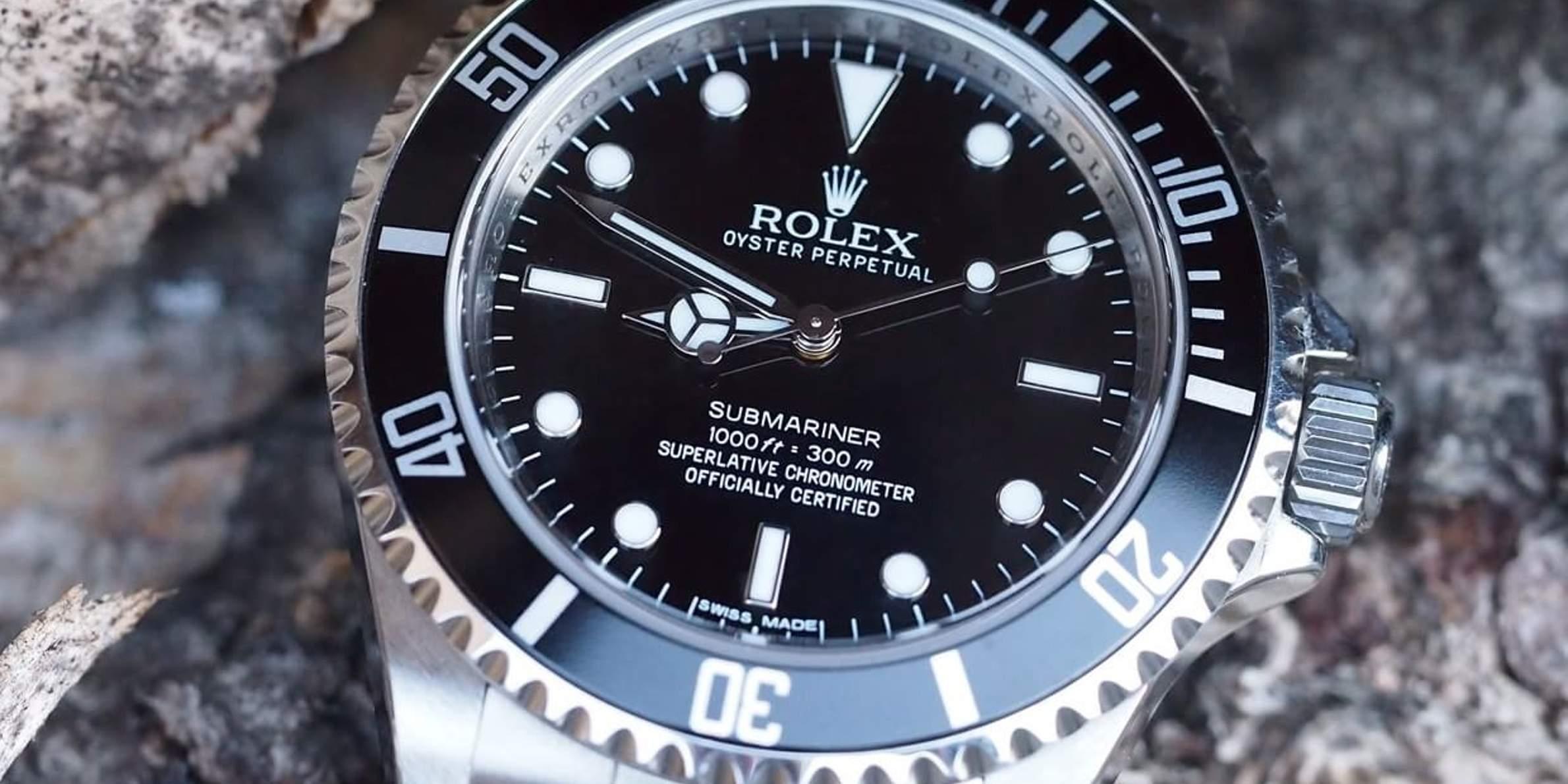 Rolex Submariner, Imagen: FratelloWatches