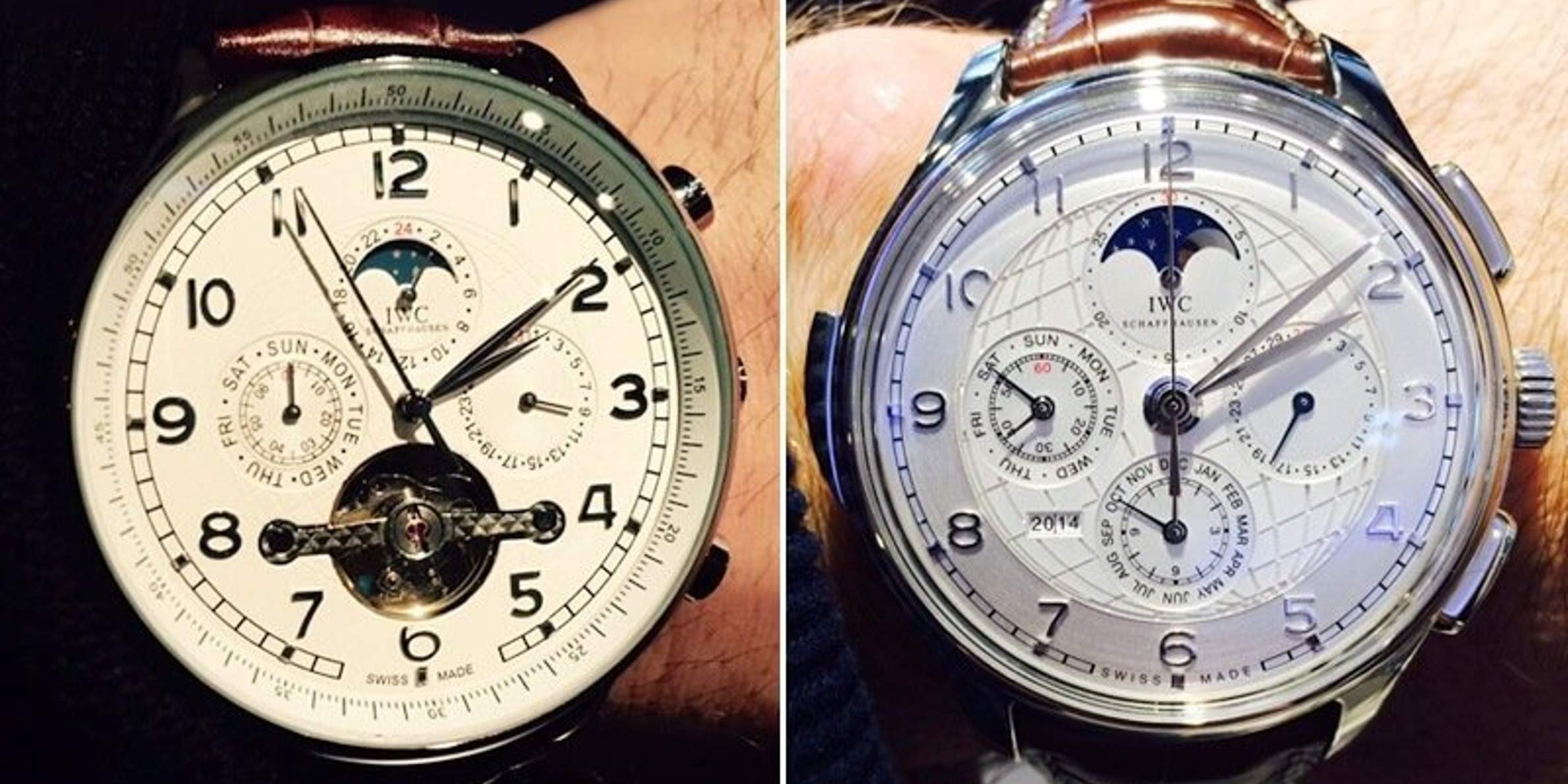 How to identify fake watches-watch comparison