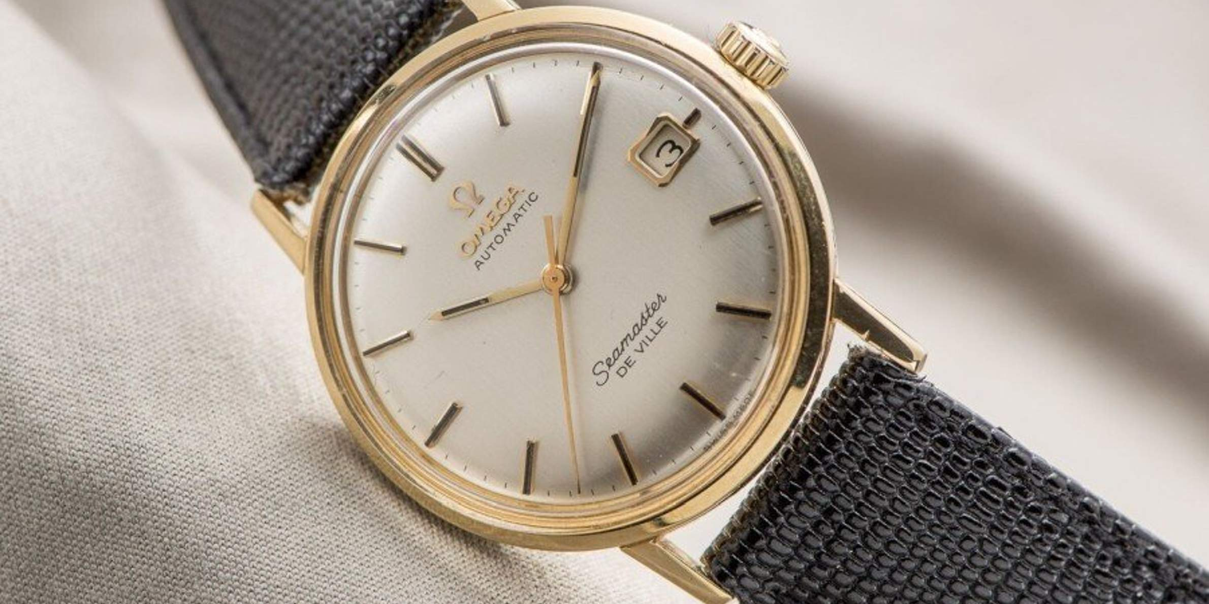The perfect watch for special occasions: The Omega Seamaster De Ville