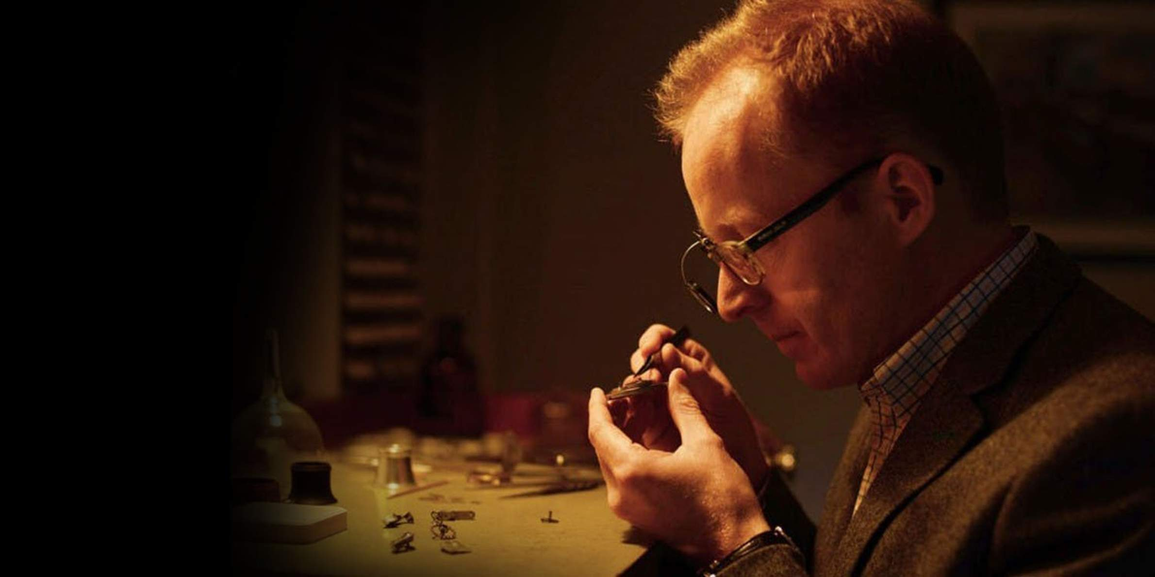 Watchmaker Roger smith