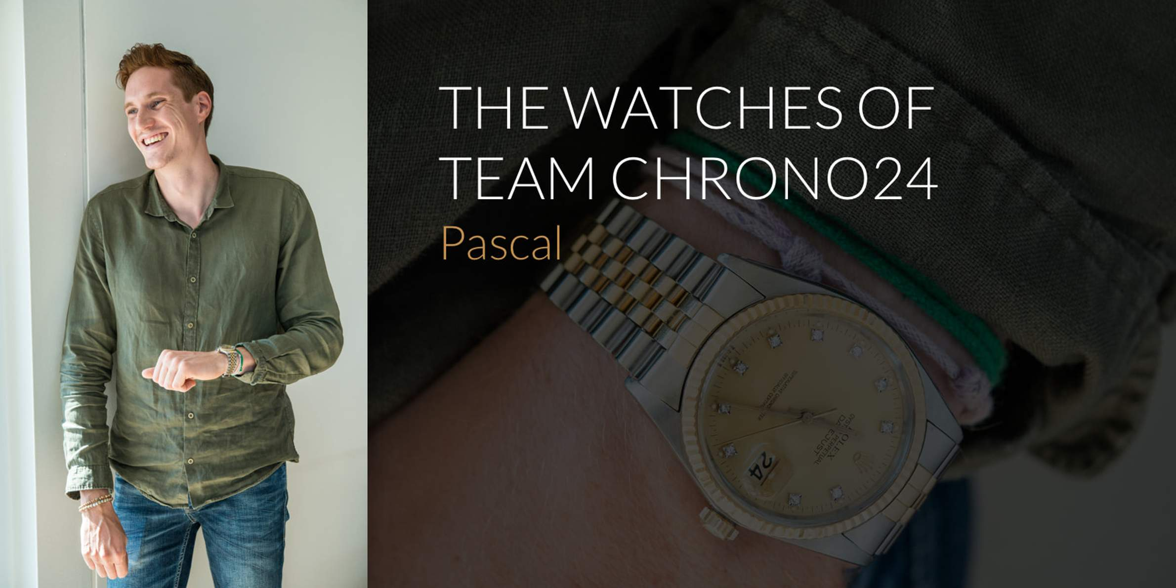 The Watches of Team Chrono24: Pascal