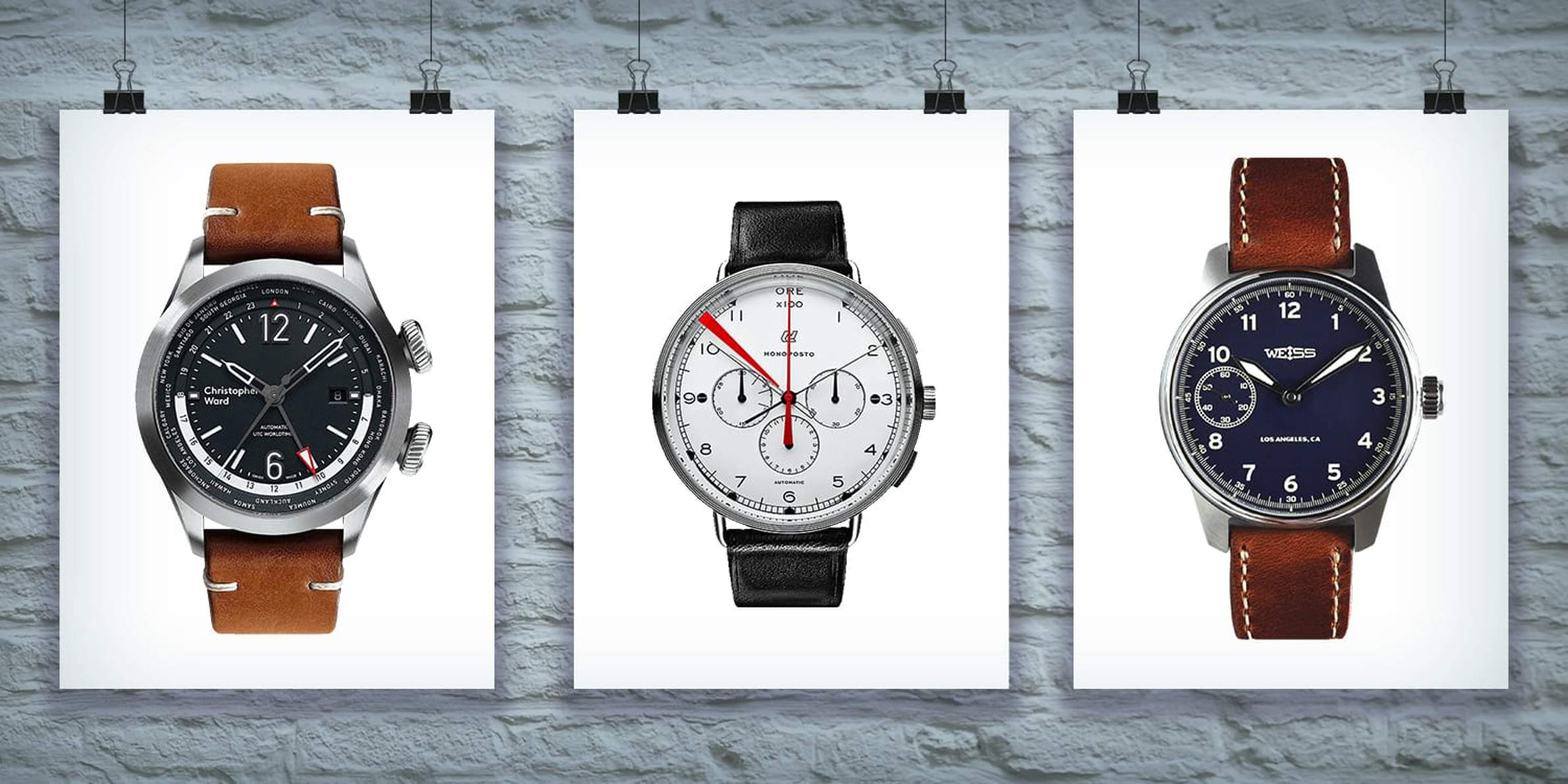 Top Watches from Independent Brands Under $3,000 – Part 2