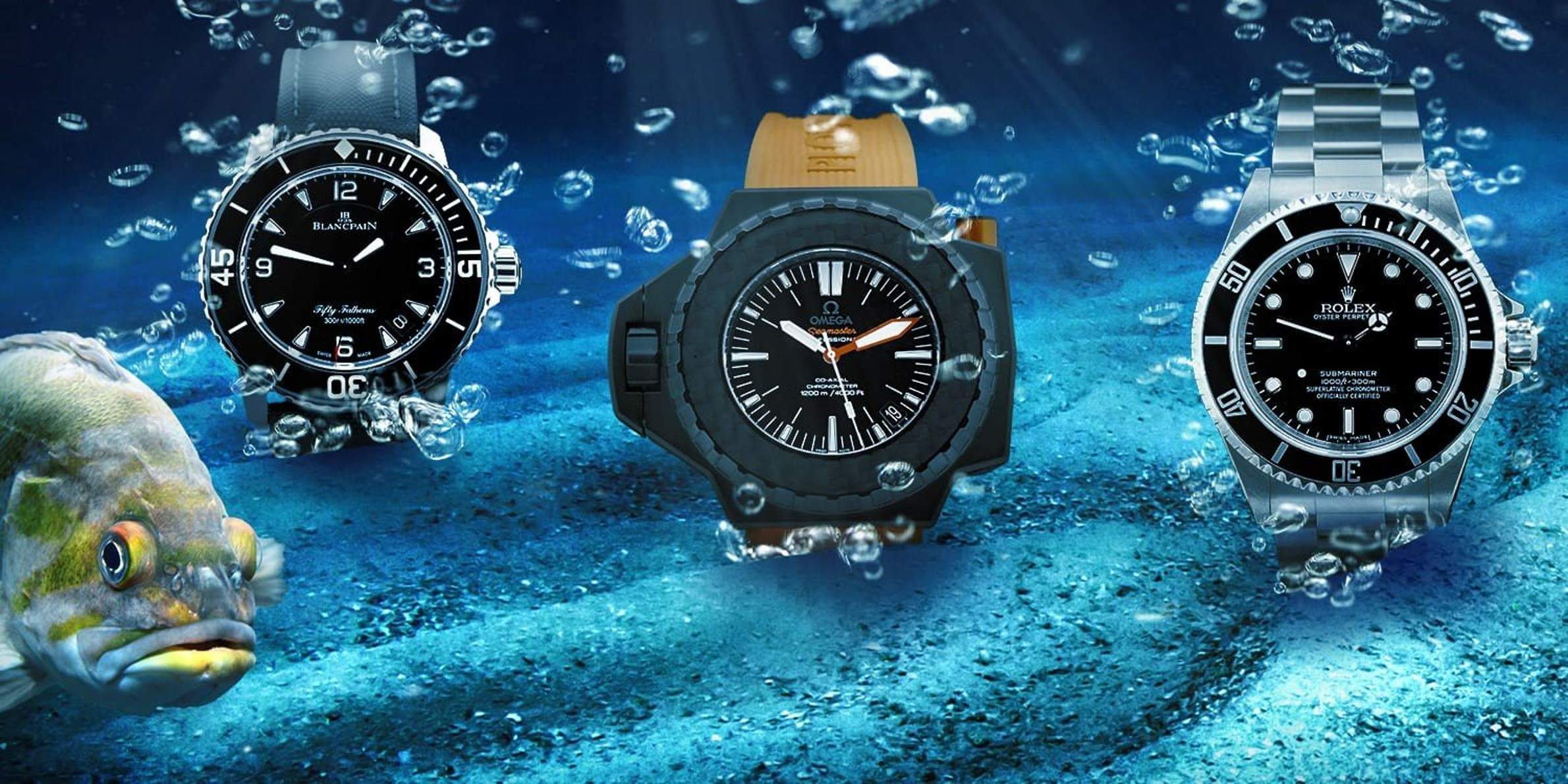 Diving Watches: From Sports Watches to Certified Icons