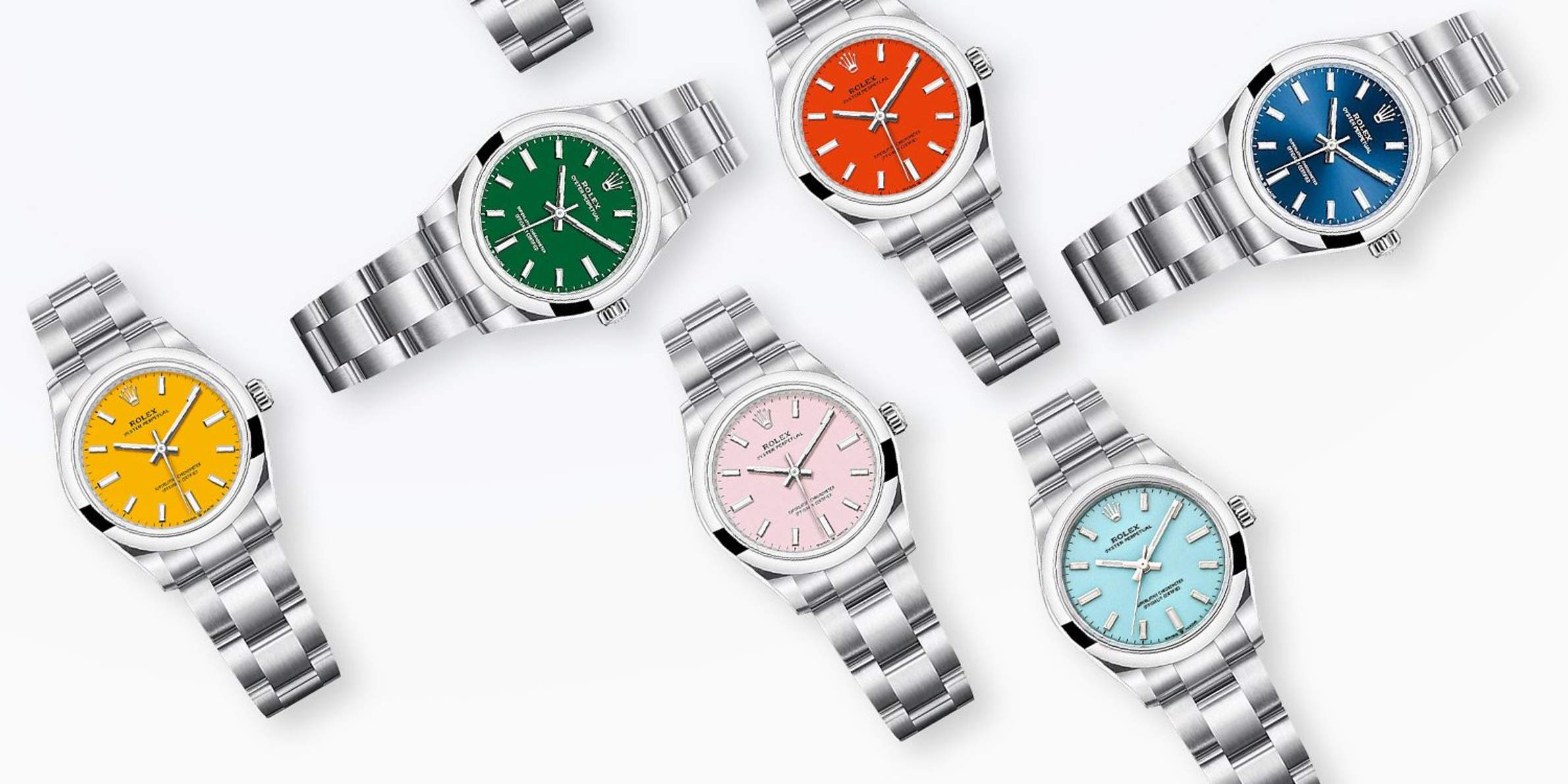 Rolex Rediscovers Its Rainbow of Flavors