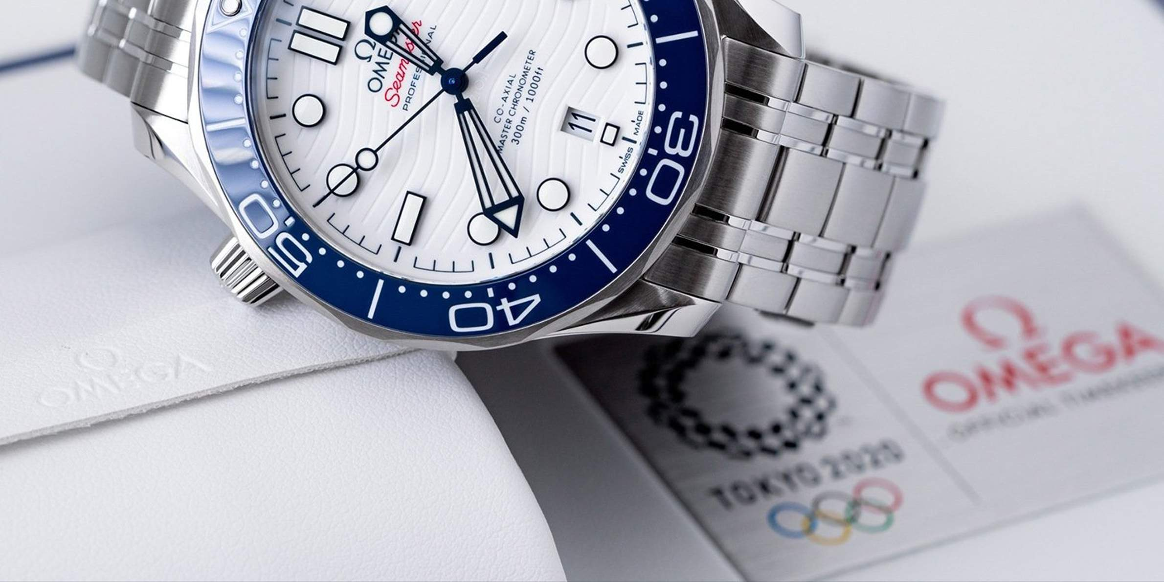 Omega Special Editions for the 2021 Olympic Games