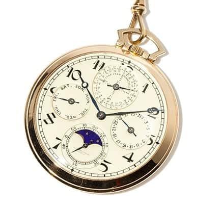 Audemars Piguet Perpetual Calendar Pocket Watch, Image: Auctionata