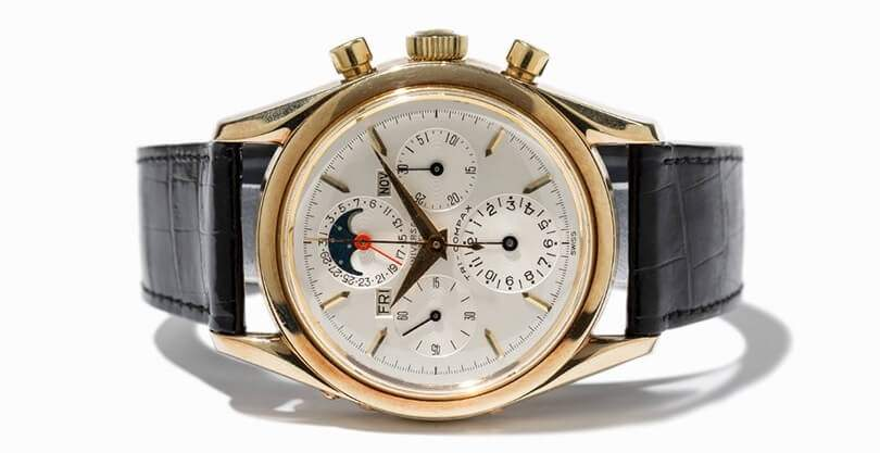 Universal Genève Tri-Compax Chronograph