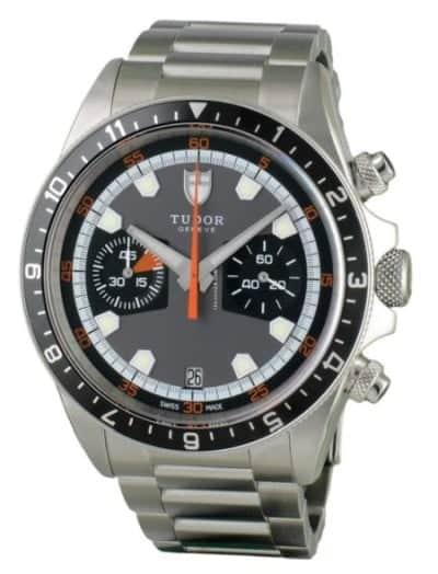The Tudor Heritage Chronograph with an ETA 2892 base movement – view listings on Chrono24