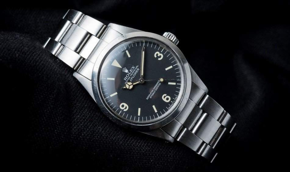 Rolex Explorer 1016, Image Christopher Beccan