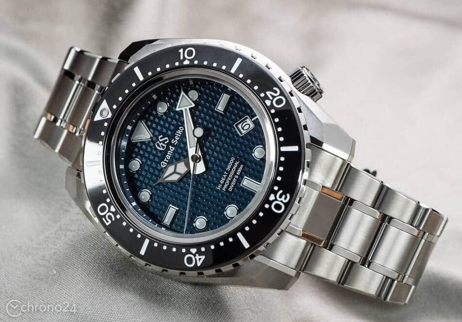Grand Seiko Hi-Beat 36000 Professional 600m Diver, Image: Bert Buijsrogge