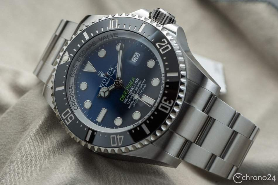 Refined and indestructible: the Rolex Sea-Dweller Deepsea