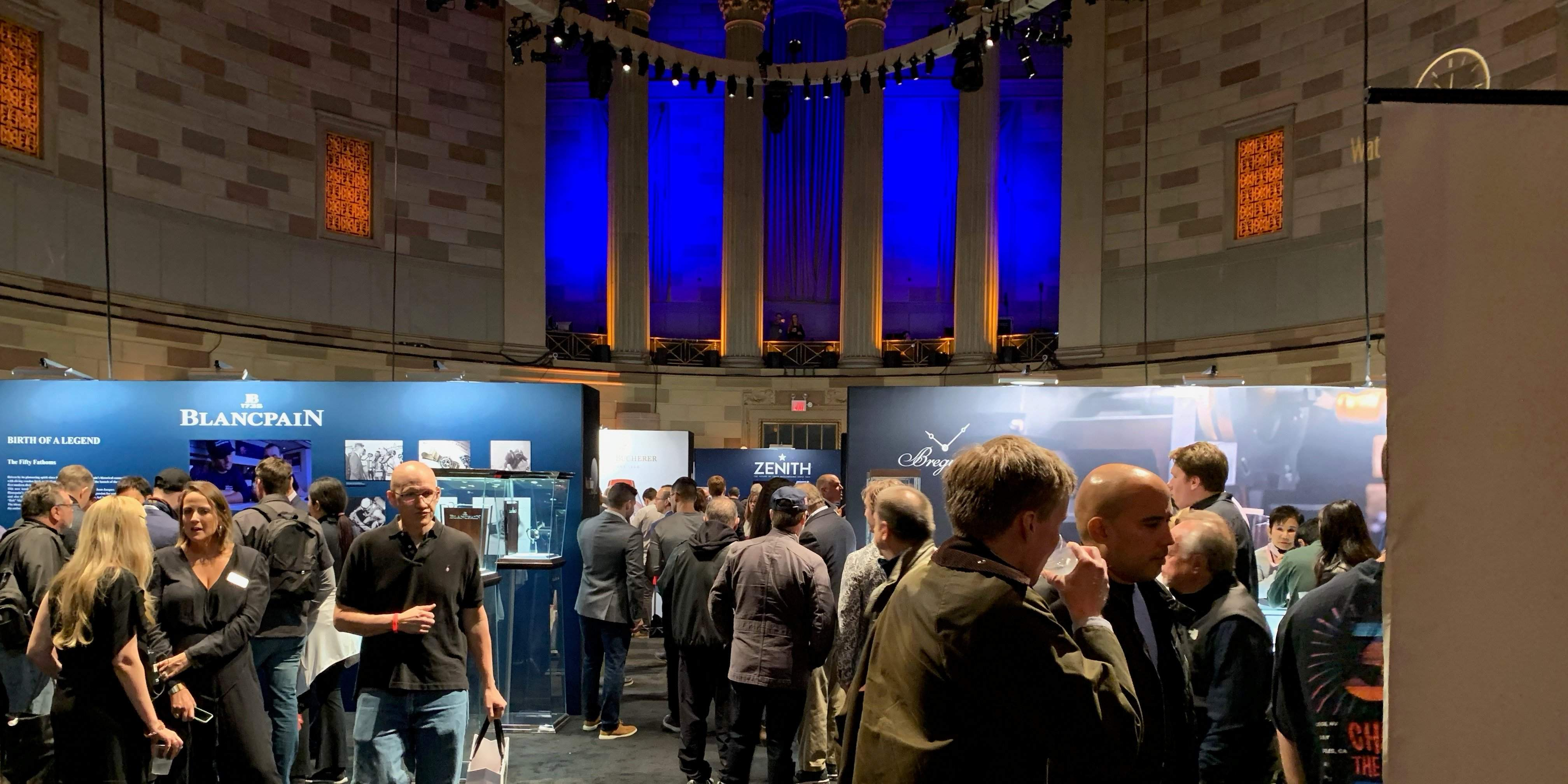 Impressions from WatchTime 2019 in New York