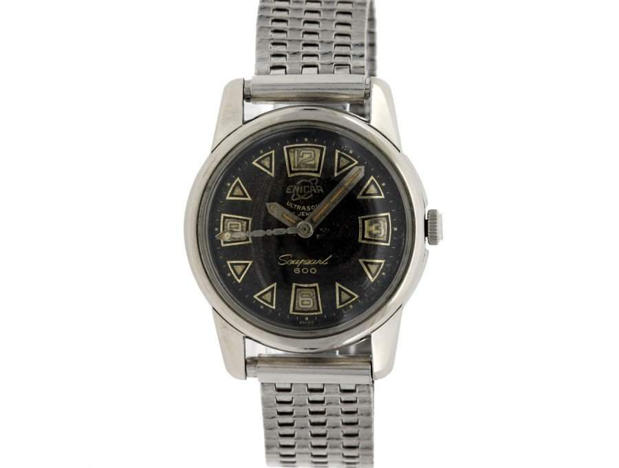 Vintage Enicar Seapearl 600 1950s