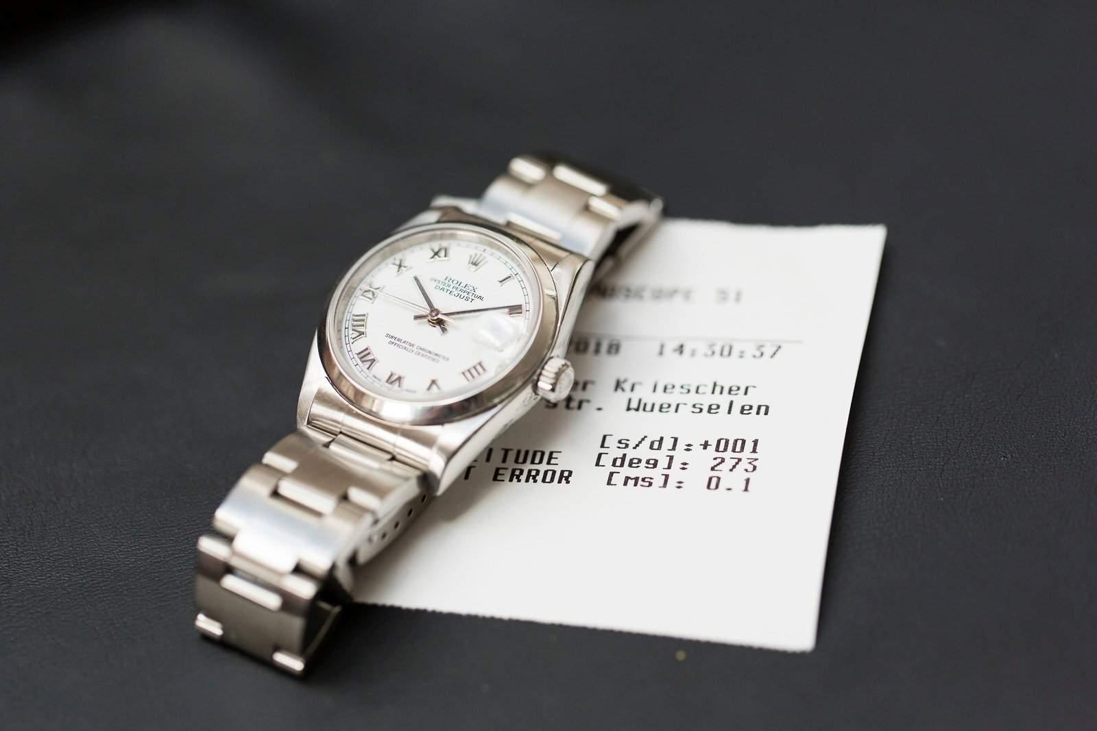 Rolex Revision Kosten