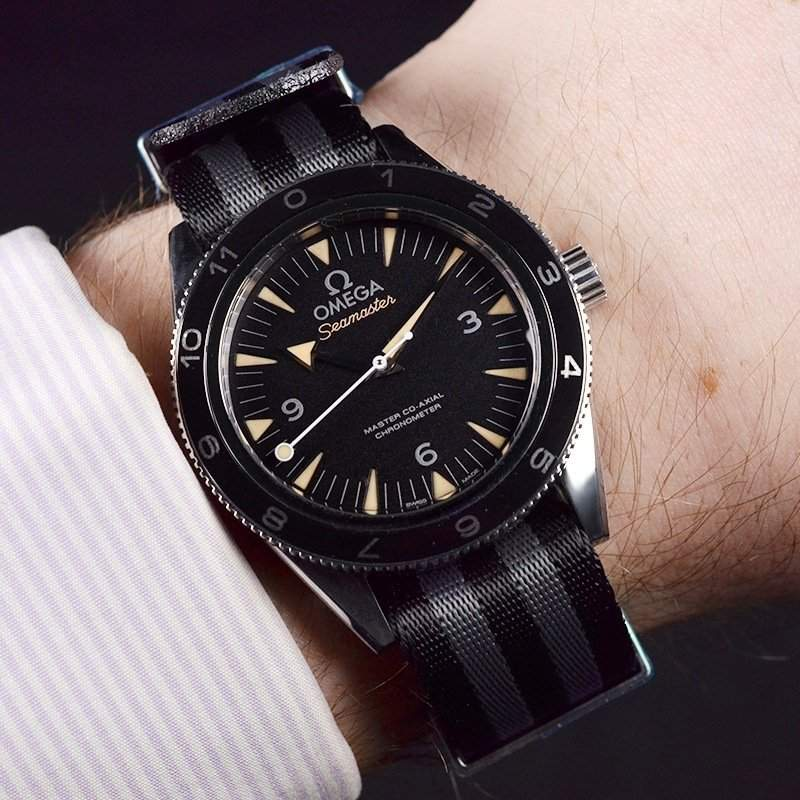 Omega Seamaster 300M in Spectre