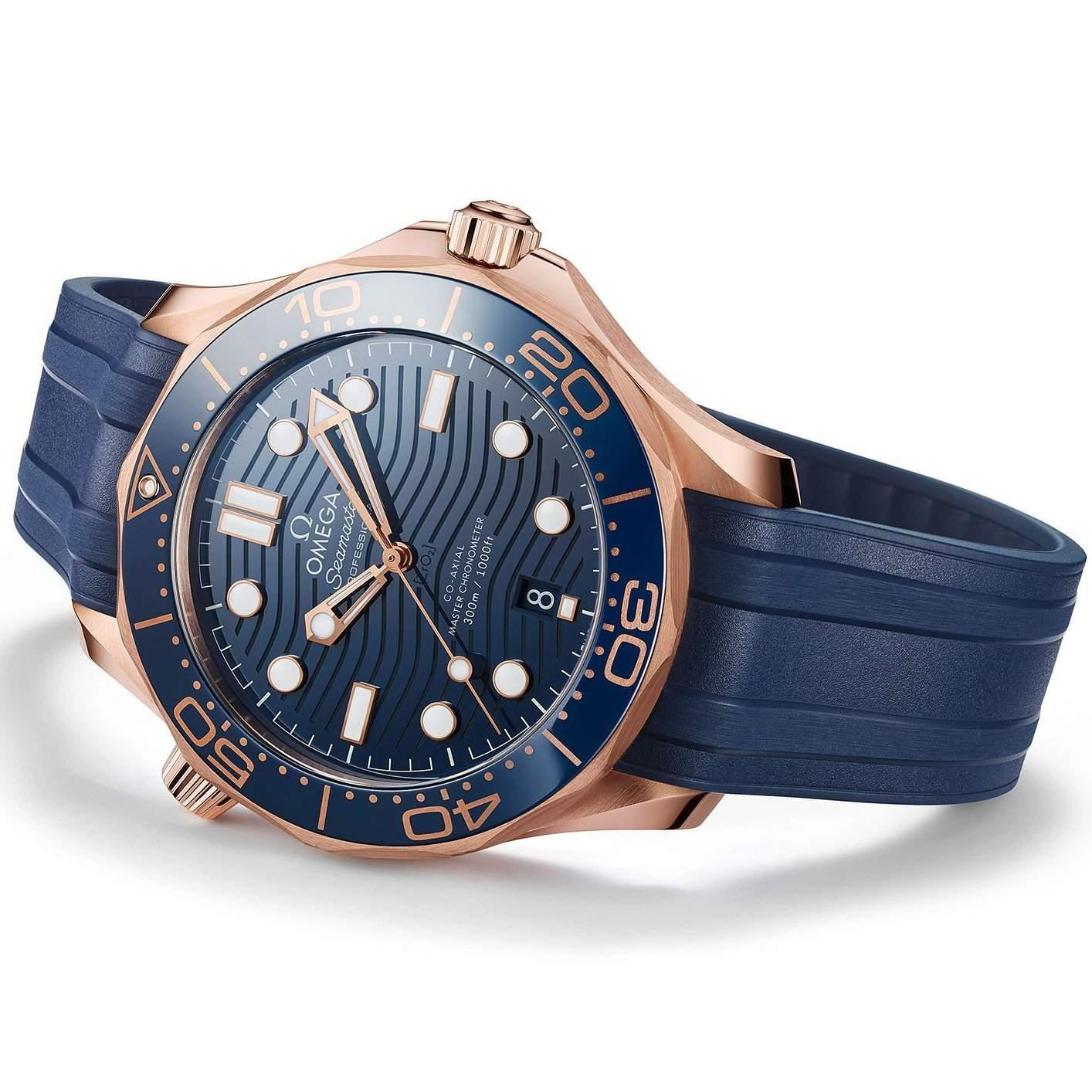 Omega Seamaster Diver 300M Sedna Gold