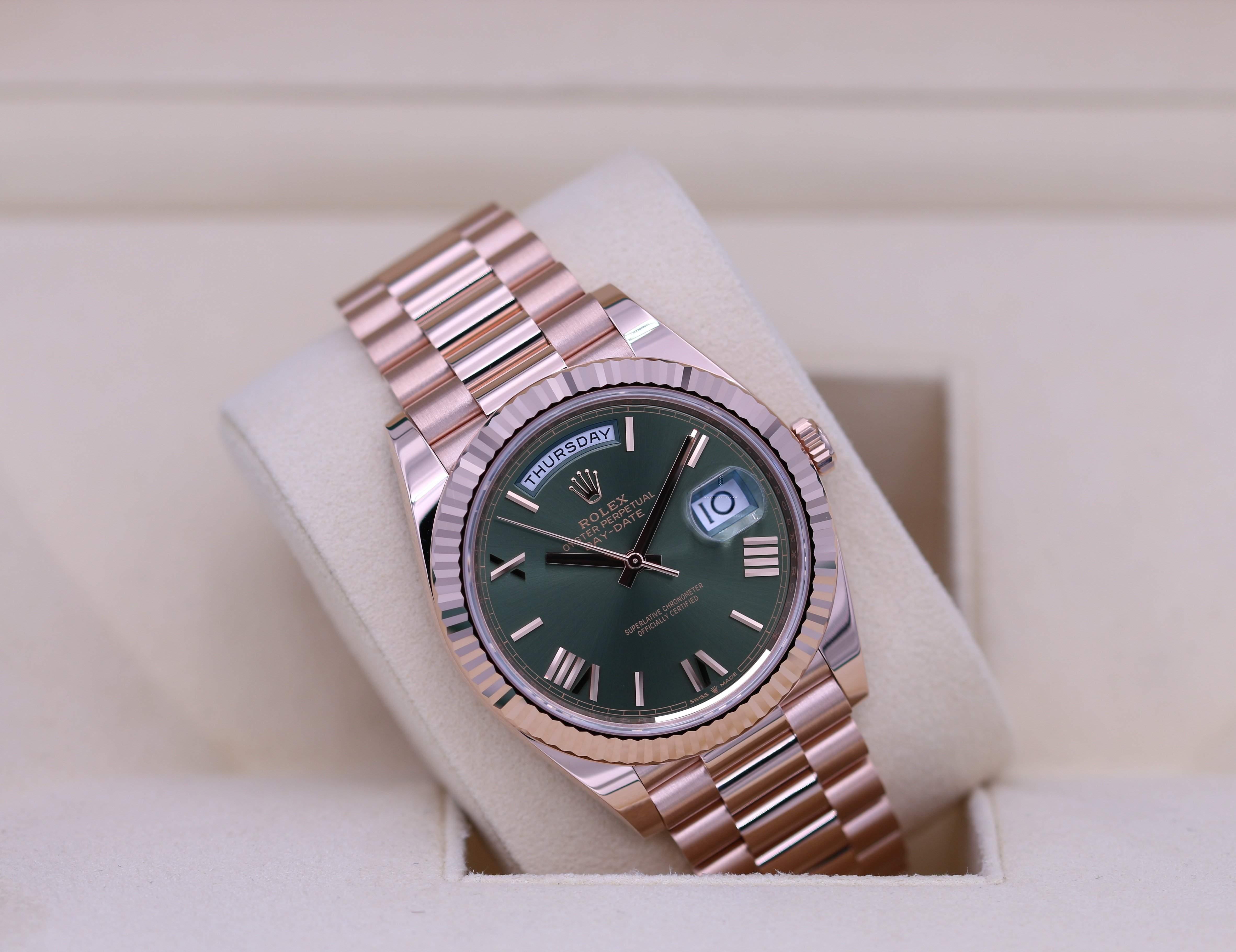 Rolex Day-Date in Rose Gold