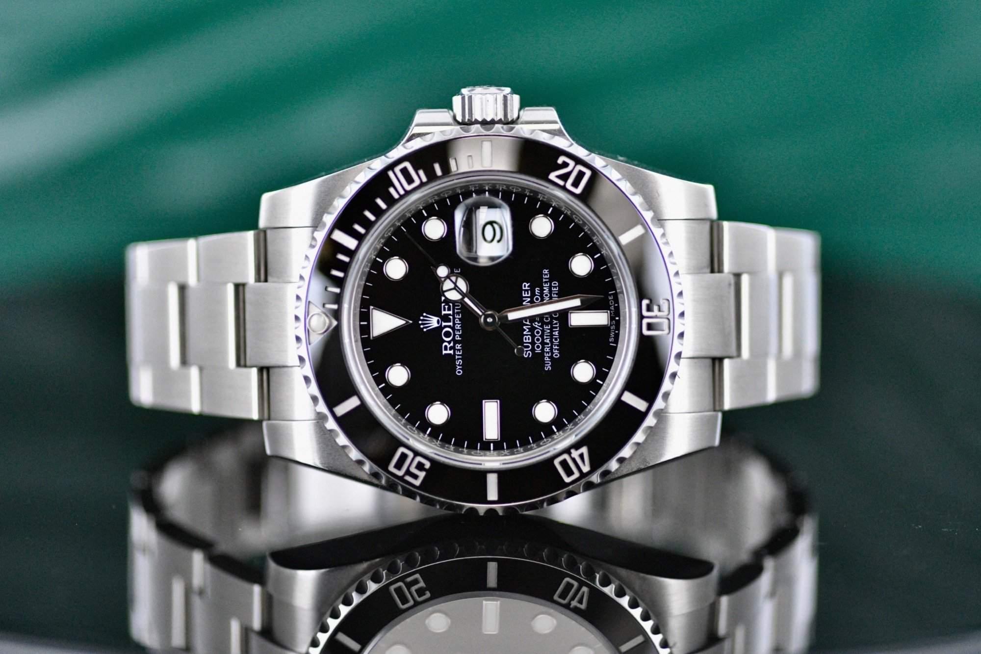 Submariner Date ref. 116610LN