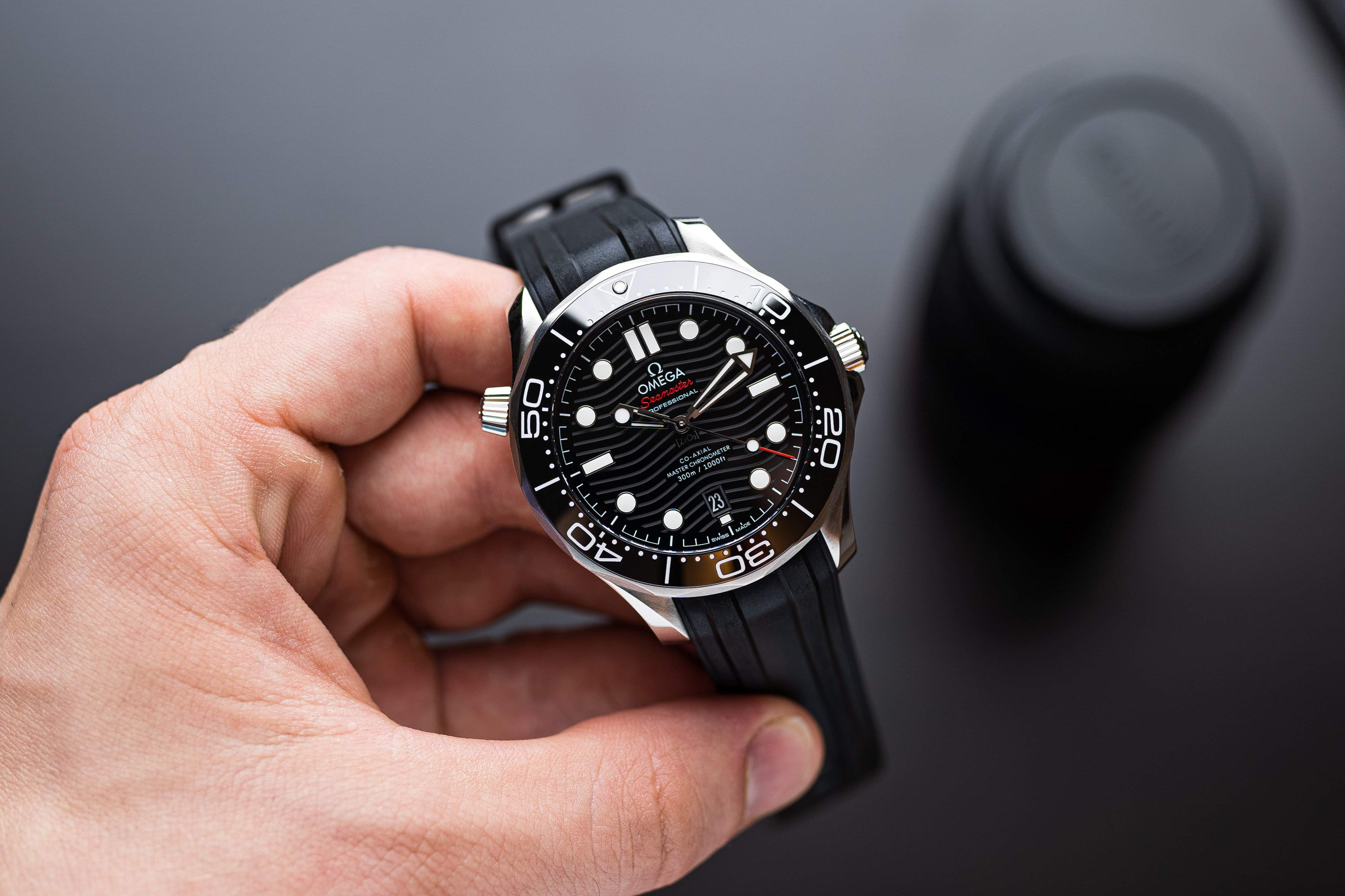 On the heels of the Speedmaster's popularity: The Omega Seamaster 300M