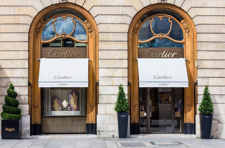 Cartier on the Place Vendôme in Paris