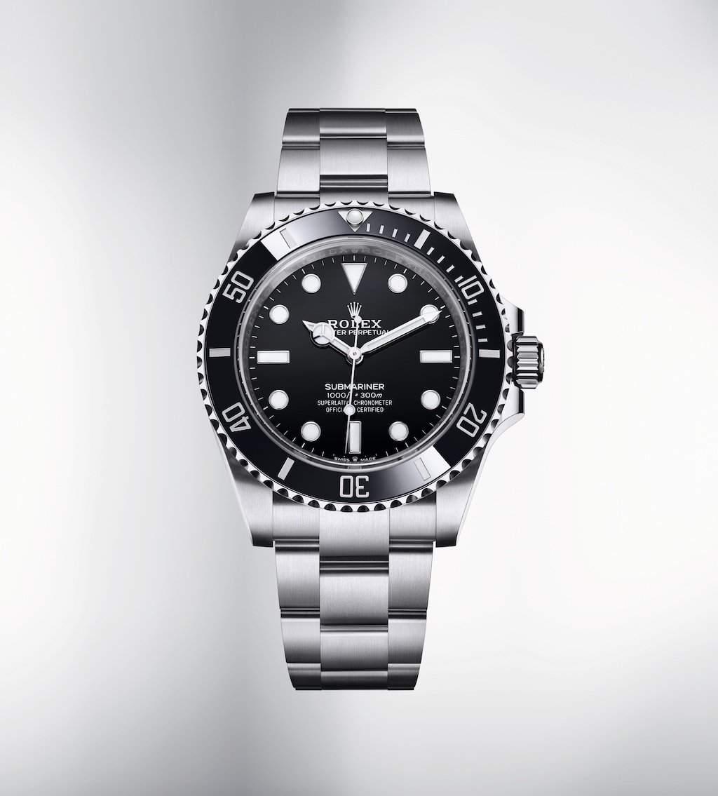 Rolex Submariner (no date), ref. 124060, Image: Rolex