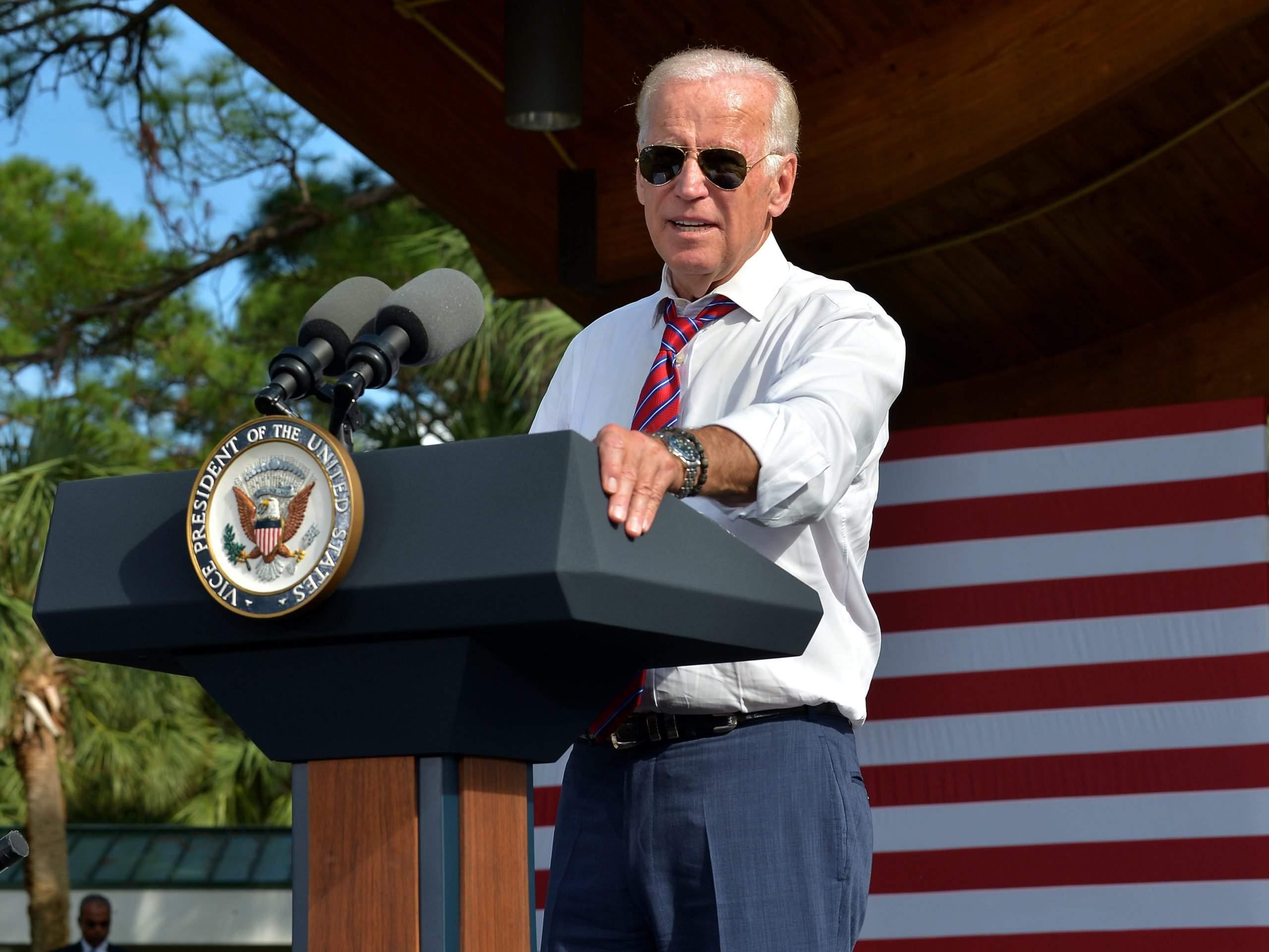 President Joe Biden and his Omega Seamaster 300M