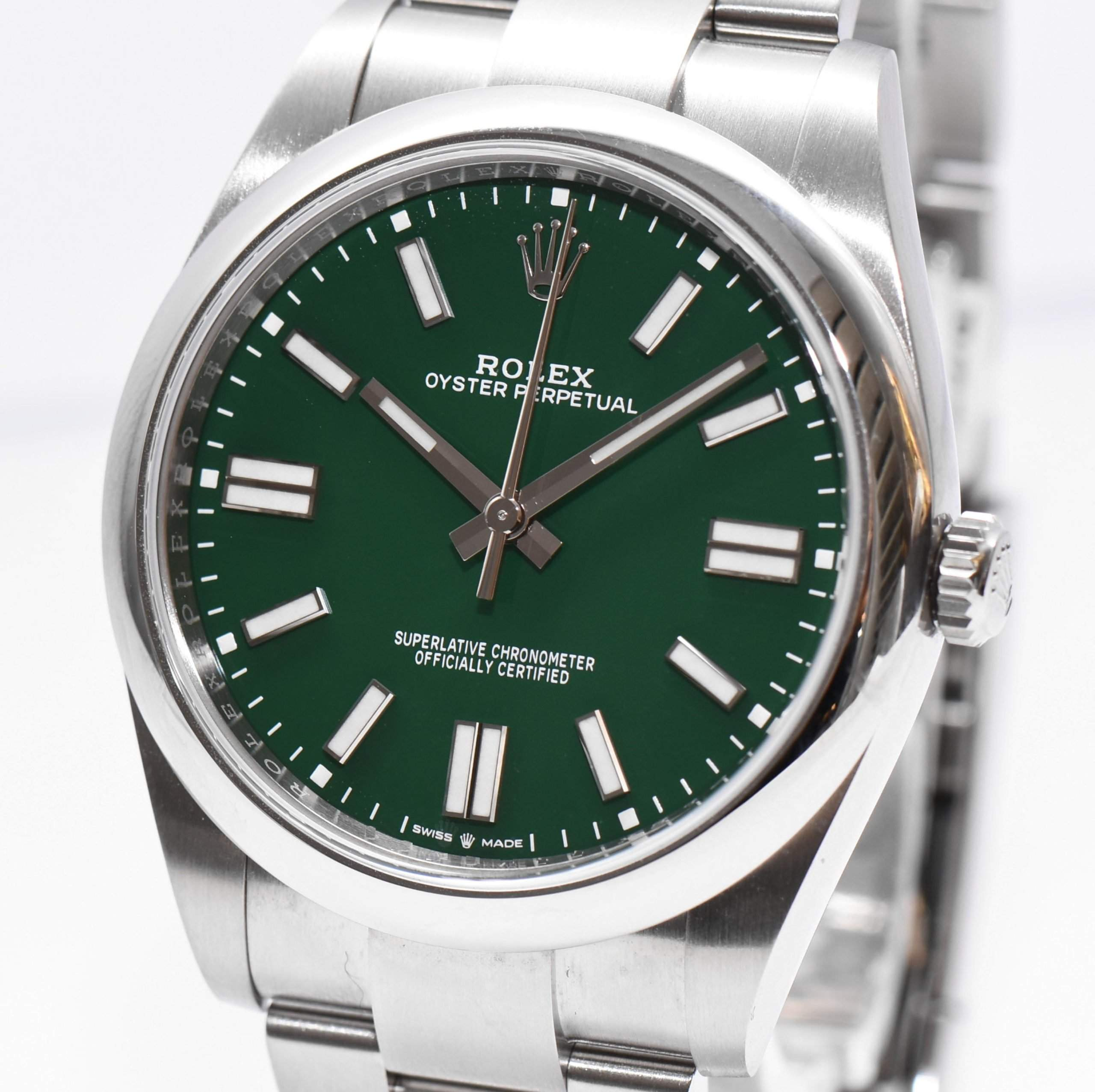 Top seller: The Rolex Oyster Perpetual ref. 124300