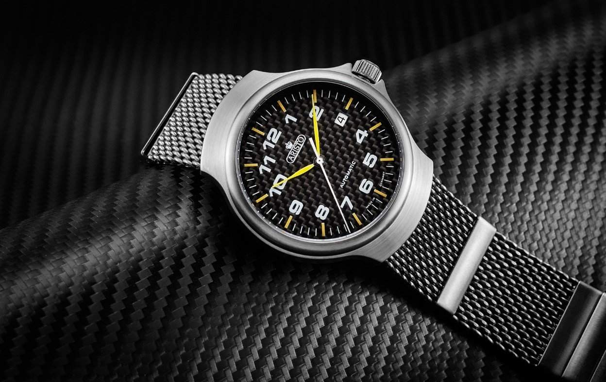 Aristo 7H95 with a carbon dial