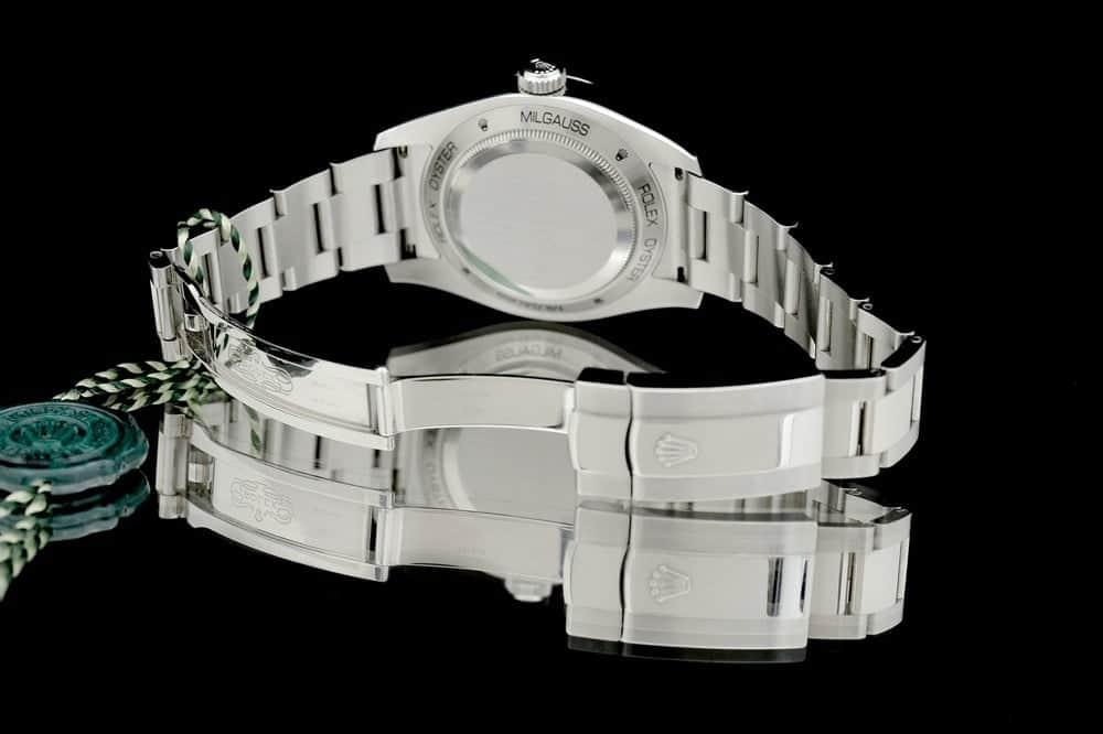 Fond de boîtier de la Rolex Milgauss réf. 116400GV