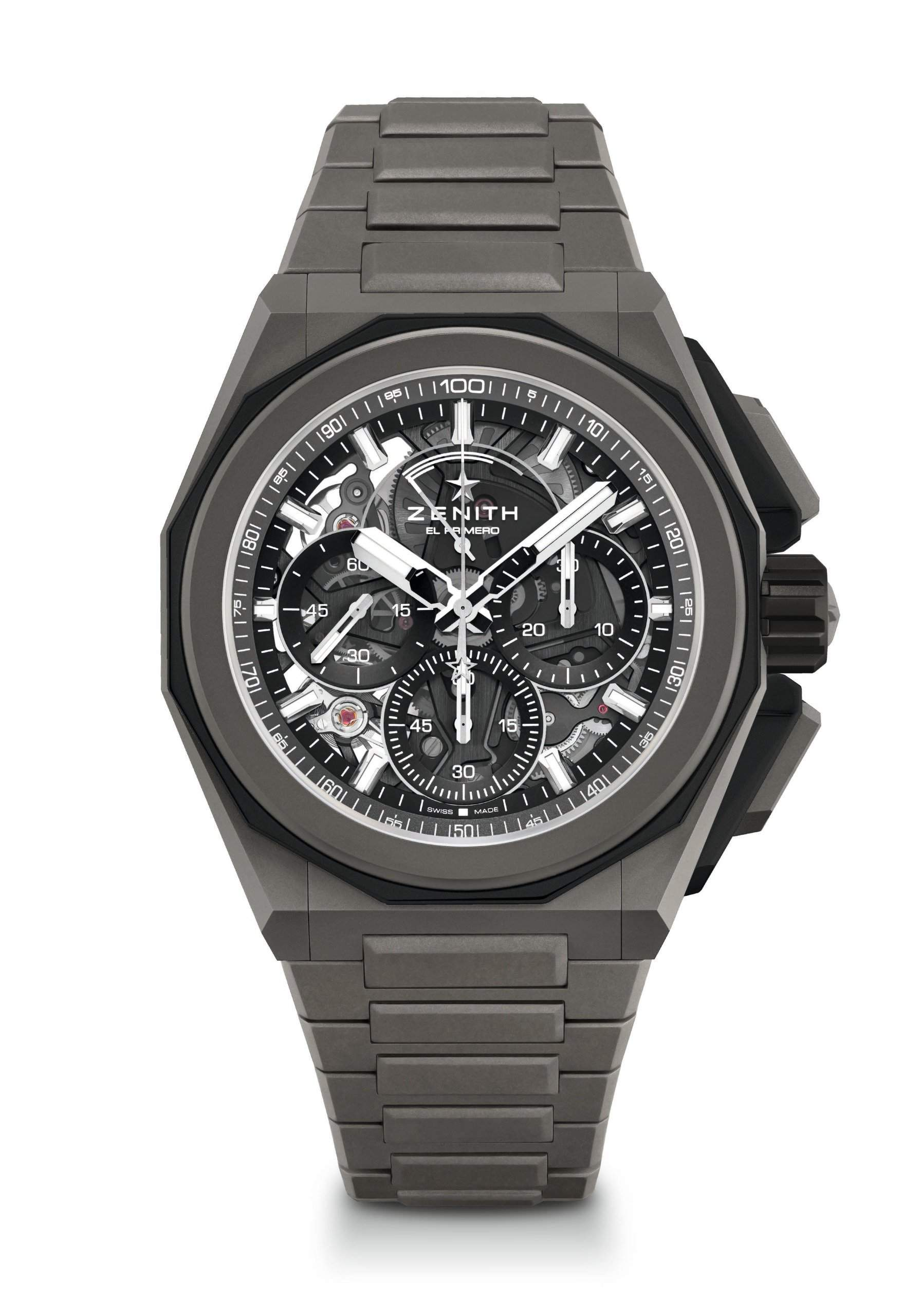 The Zentih Defy Extreme chronograph runs 60 times faster than most chronographs.