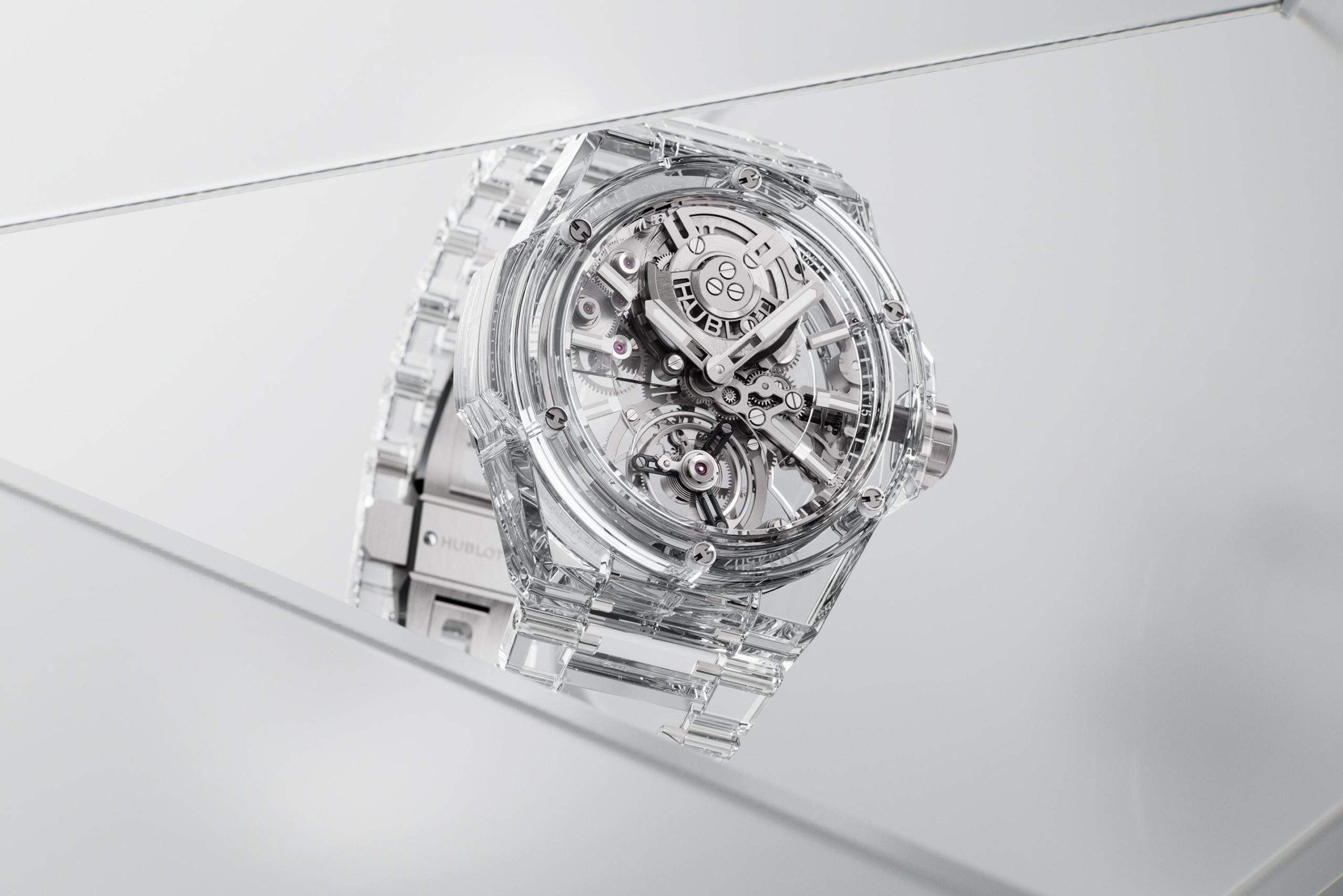 Hublot has released the first solid sapphire watch.