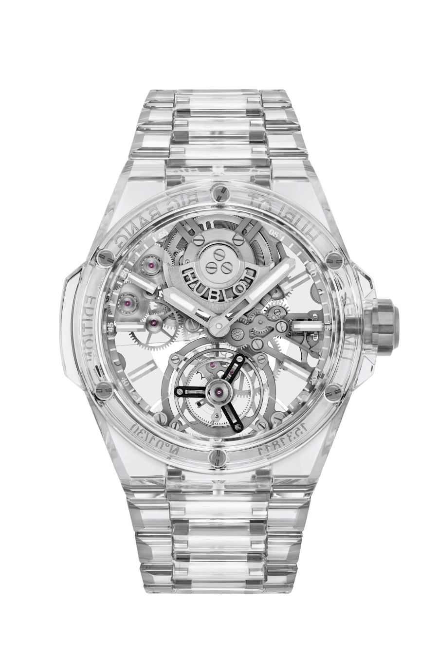 The new Hublot Big Bang Integral Tourbillon: sapphire inside and out