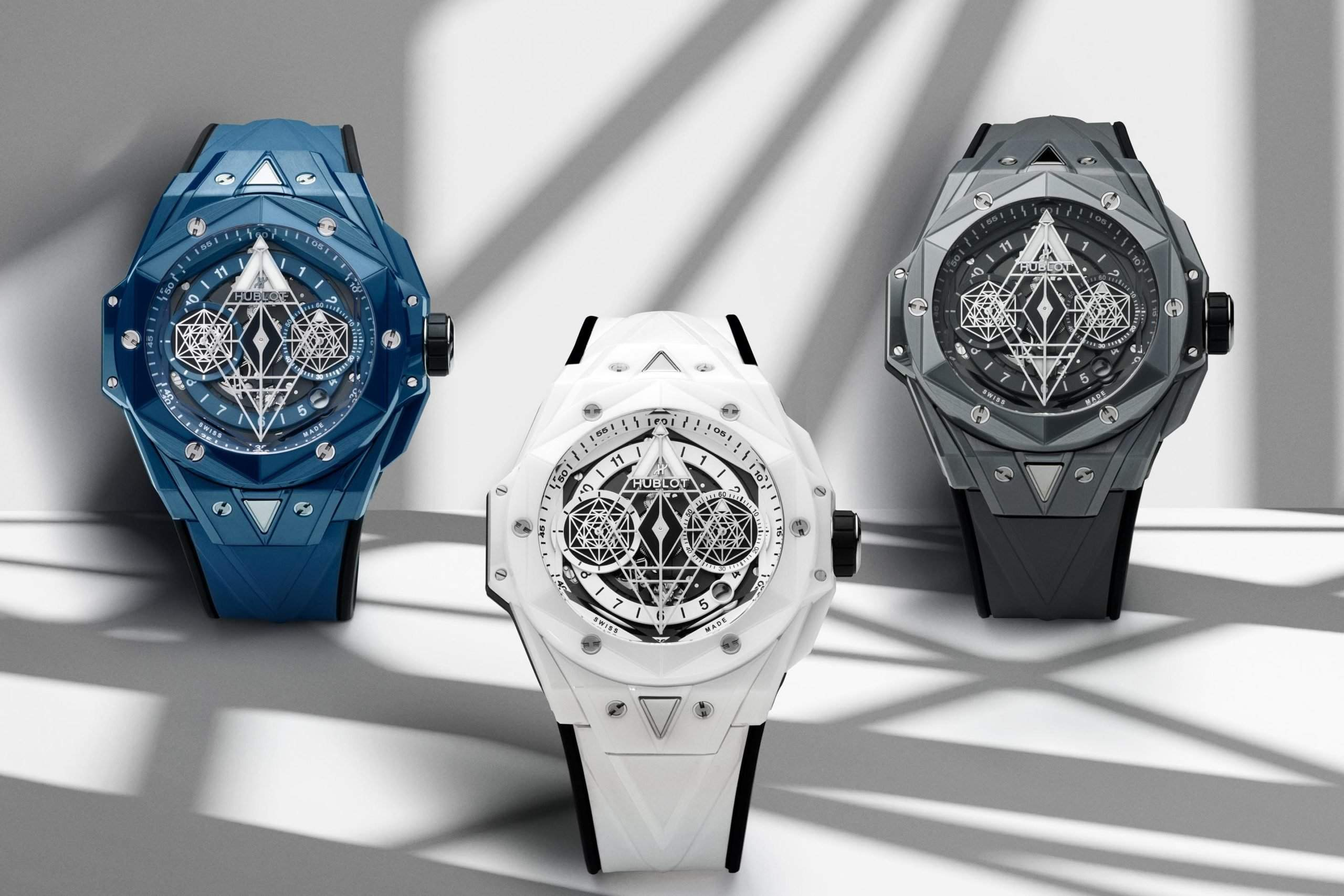 Hublot will produce just 200 copies of each version.
