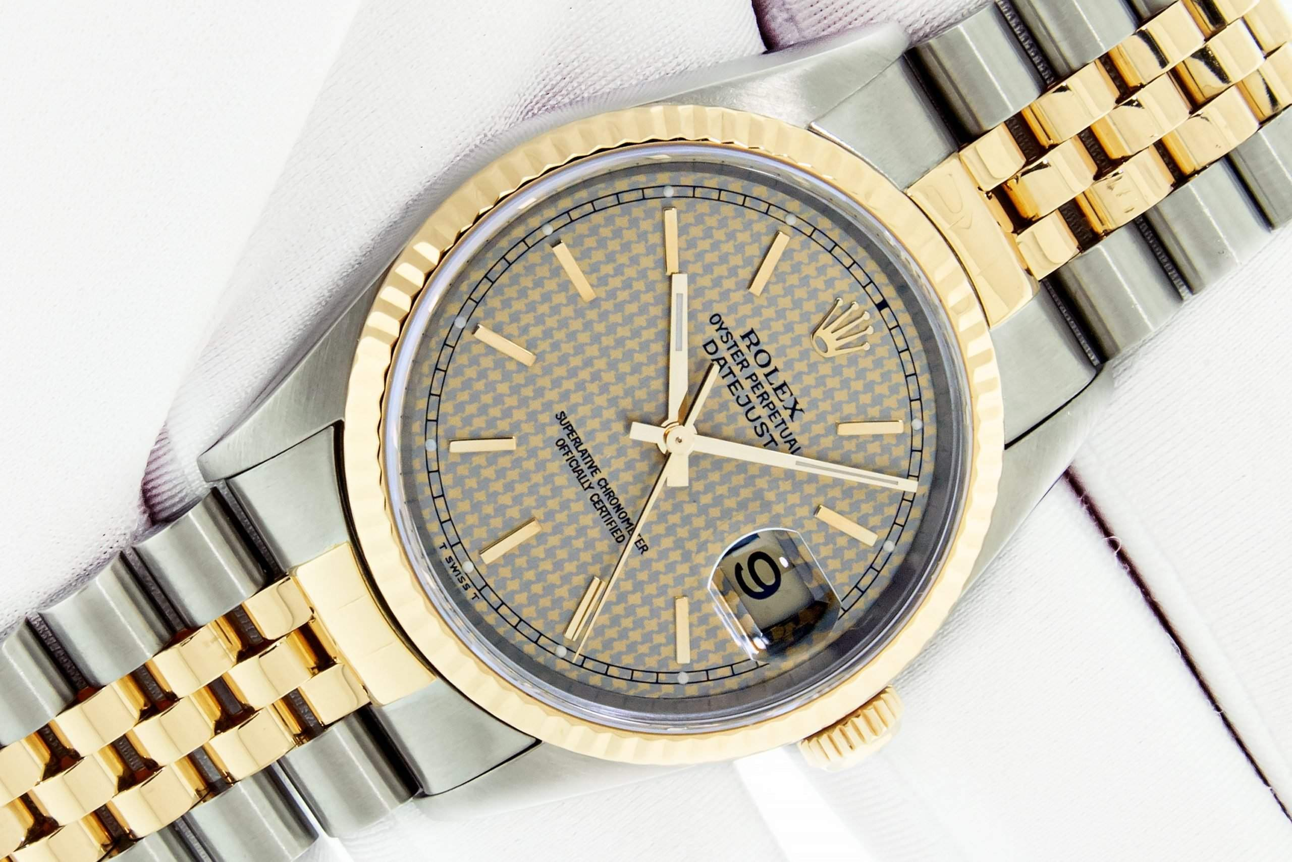 Rolex Datejust 16013: the perfect watch for a Wall Street hotshot