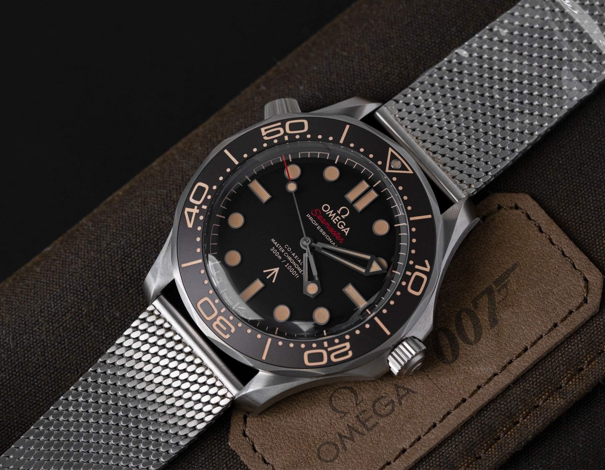 Omega Seamaster Diver 300M 007-Edition