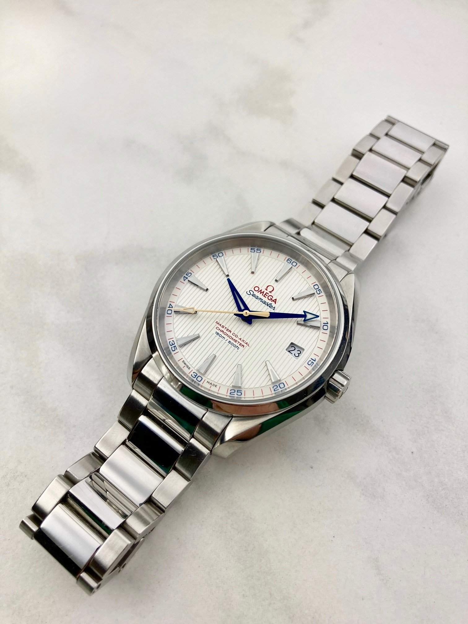 Omega's special Seamaster golf editions