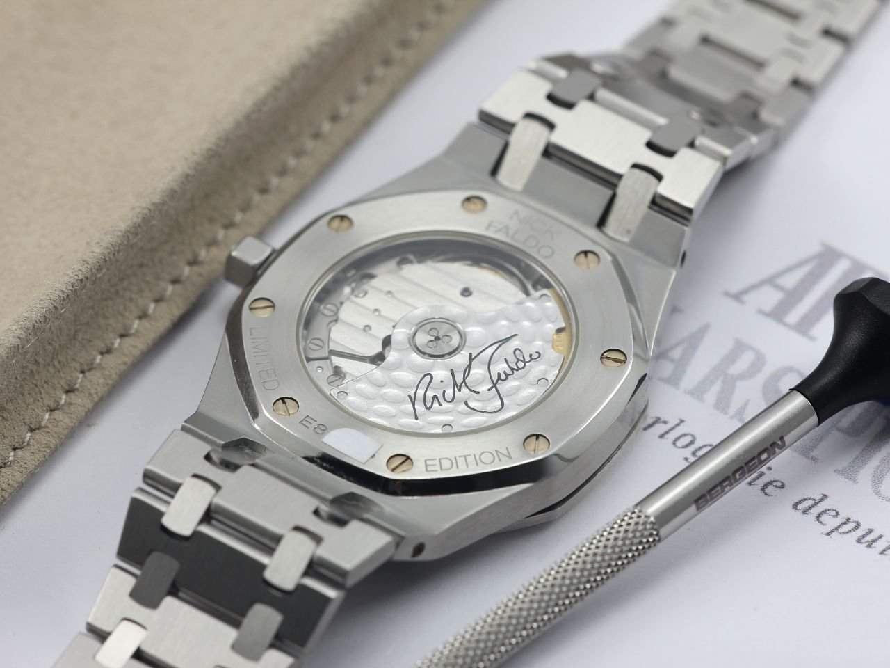 """The Royal Oak """"Nick Faldo"""" editions are coveted among collectors"""