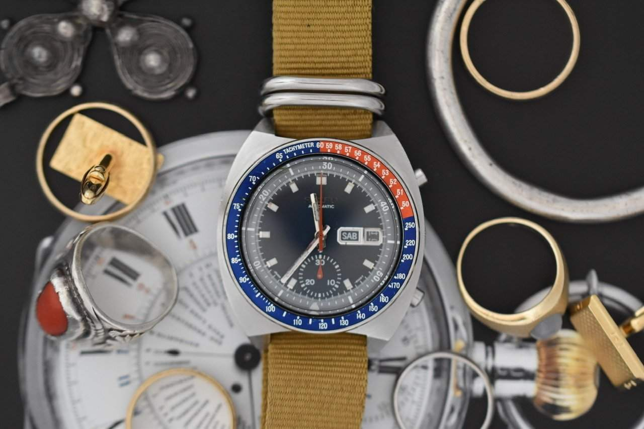 The Seiko Pogue was the first automatic chronograph in space