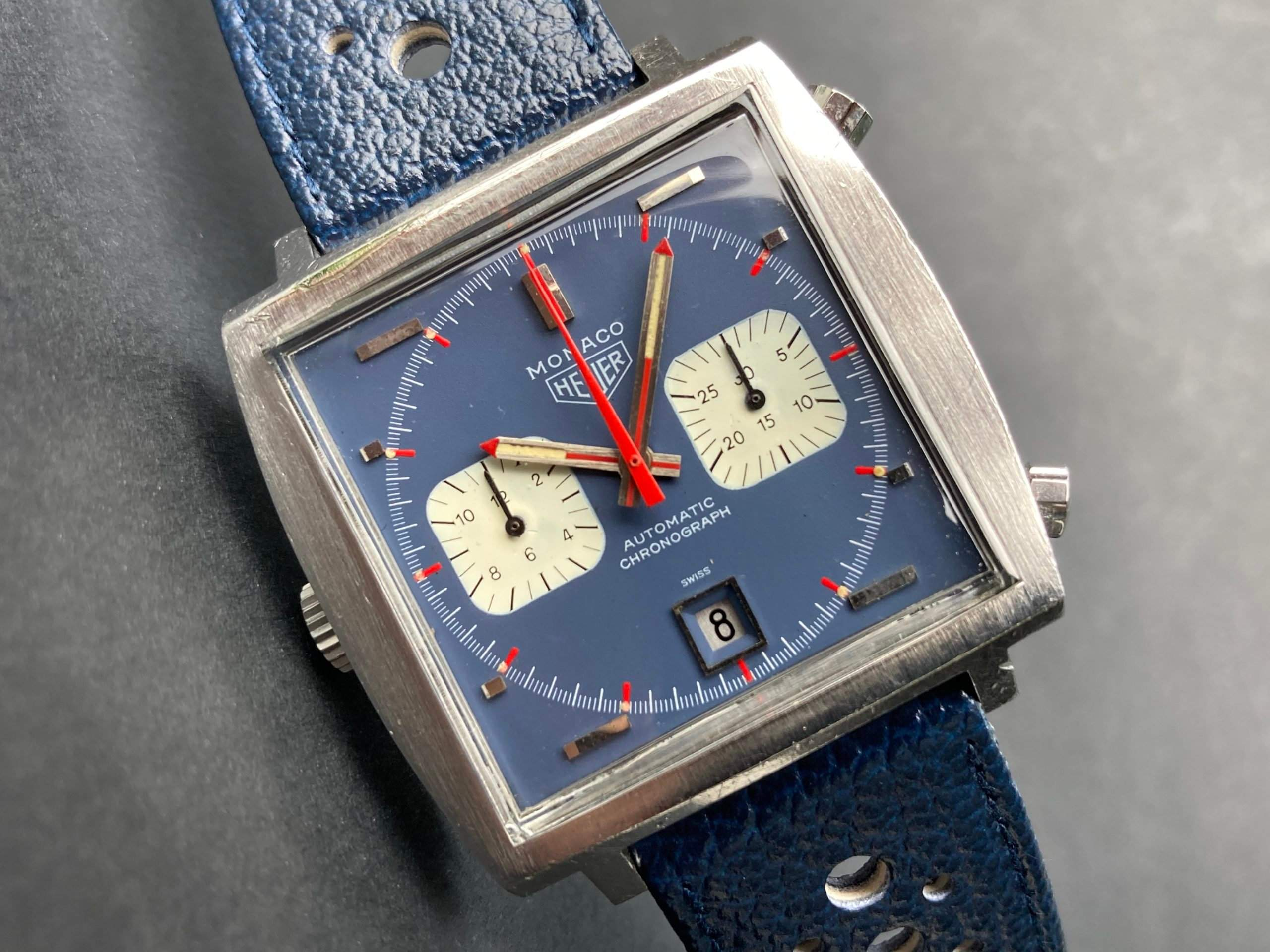 Heuer's Monaco was the first automatic chronograph available to global markets