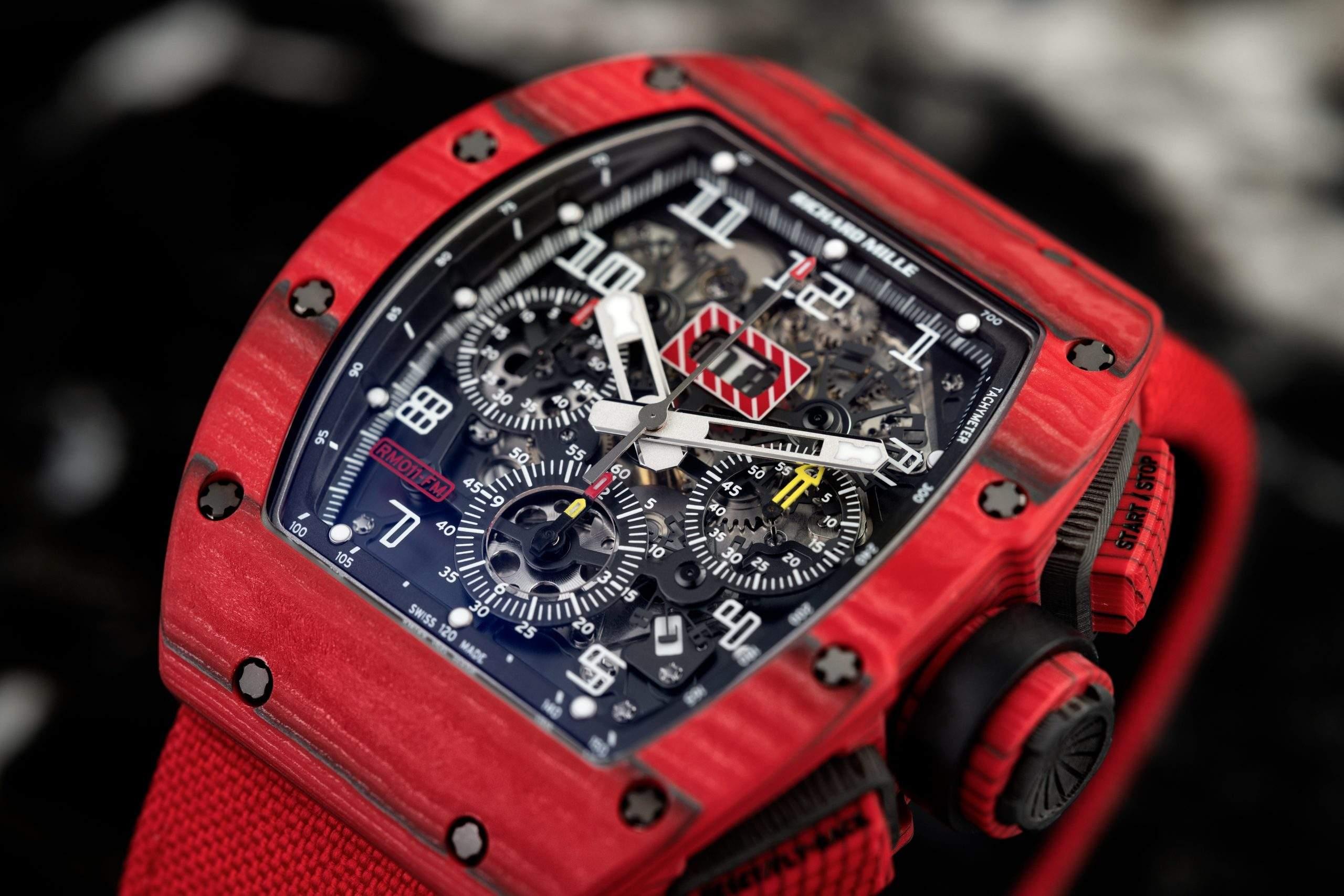 La Richard Mille RM 011 Red TPT Quartz Limited Edition