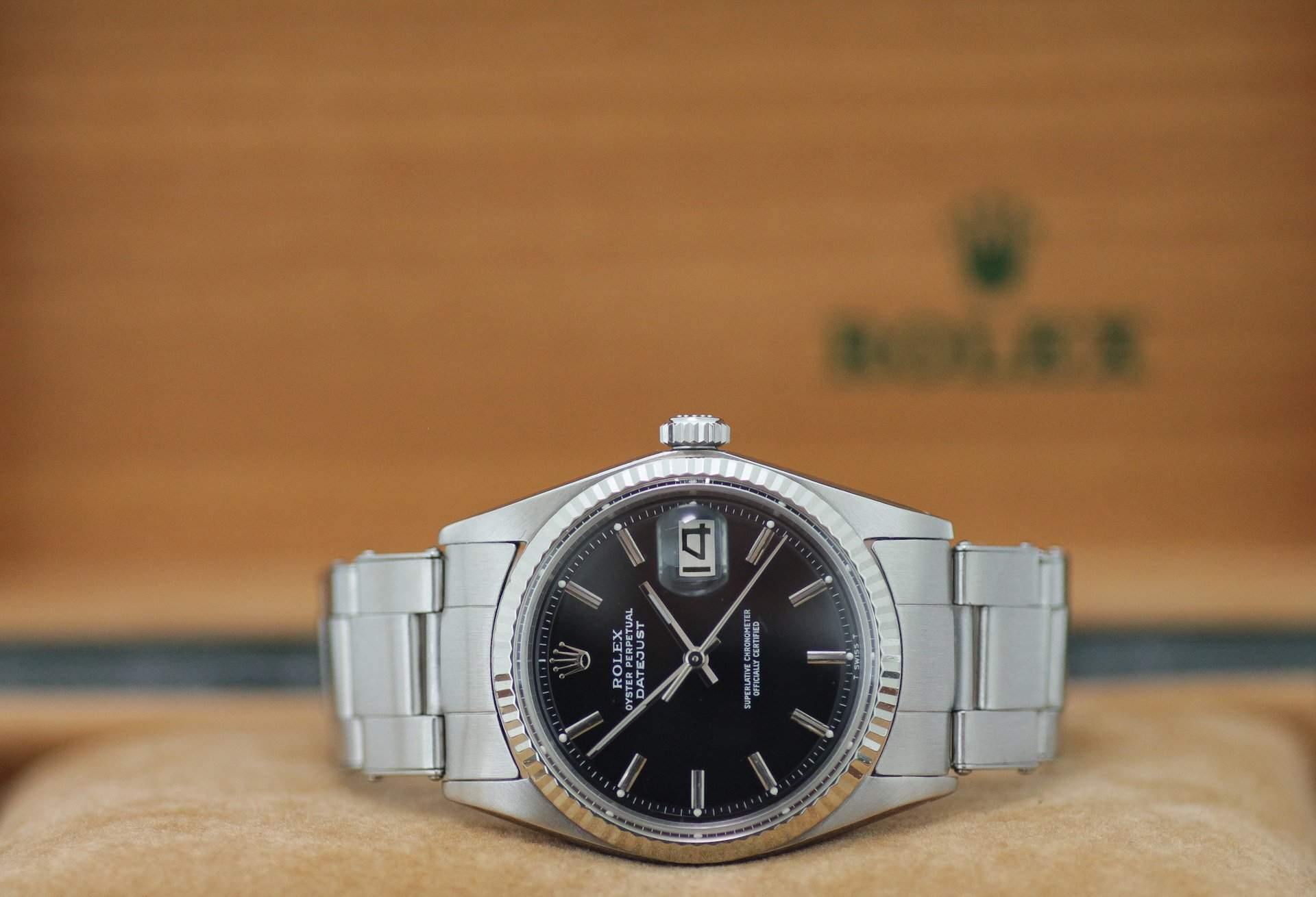 Despite its advanced age, the ref. 1601 is a full-fledged Datejust and a great introduction to the world of Rolex and the Datejust.