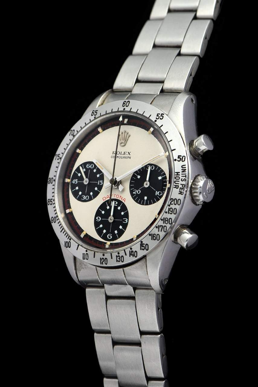 """Paul Newman's top watch: the Daytona ref. 6239 with an """"exotic dial"""""""