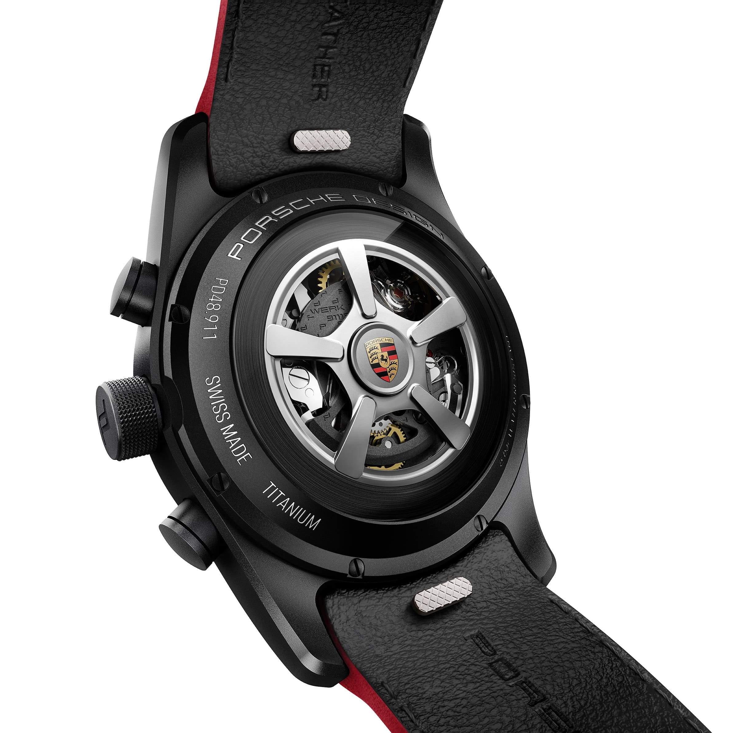 Porsche Design Individual Timepieces Ennstal back W