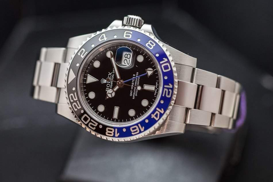 The Rolex GMT-Master II Batman's prices are making their way back down to Earth.