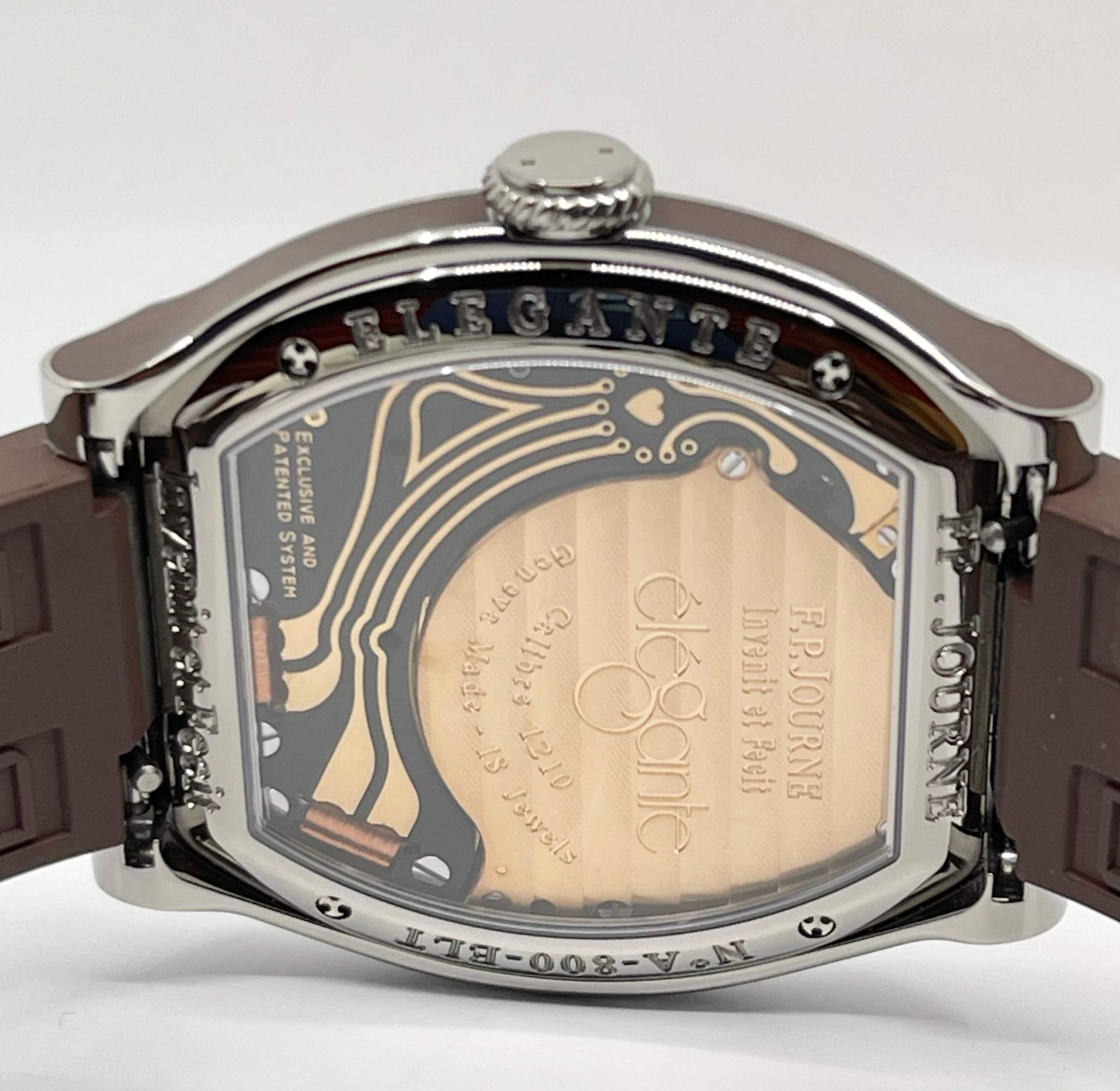 """F.P. Journe Élégante: an """"entry-level"""" quartz watch for Rolex Daytona prices."""