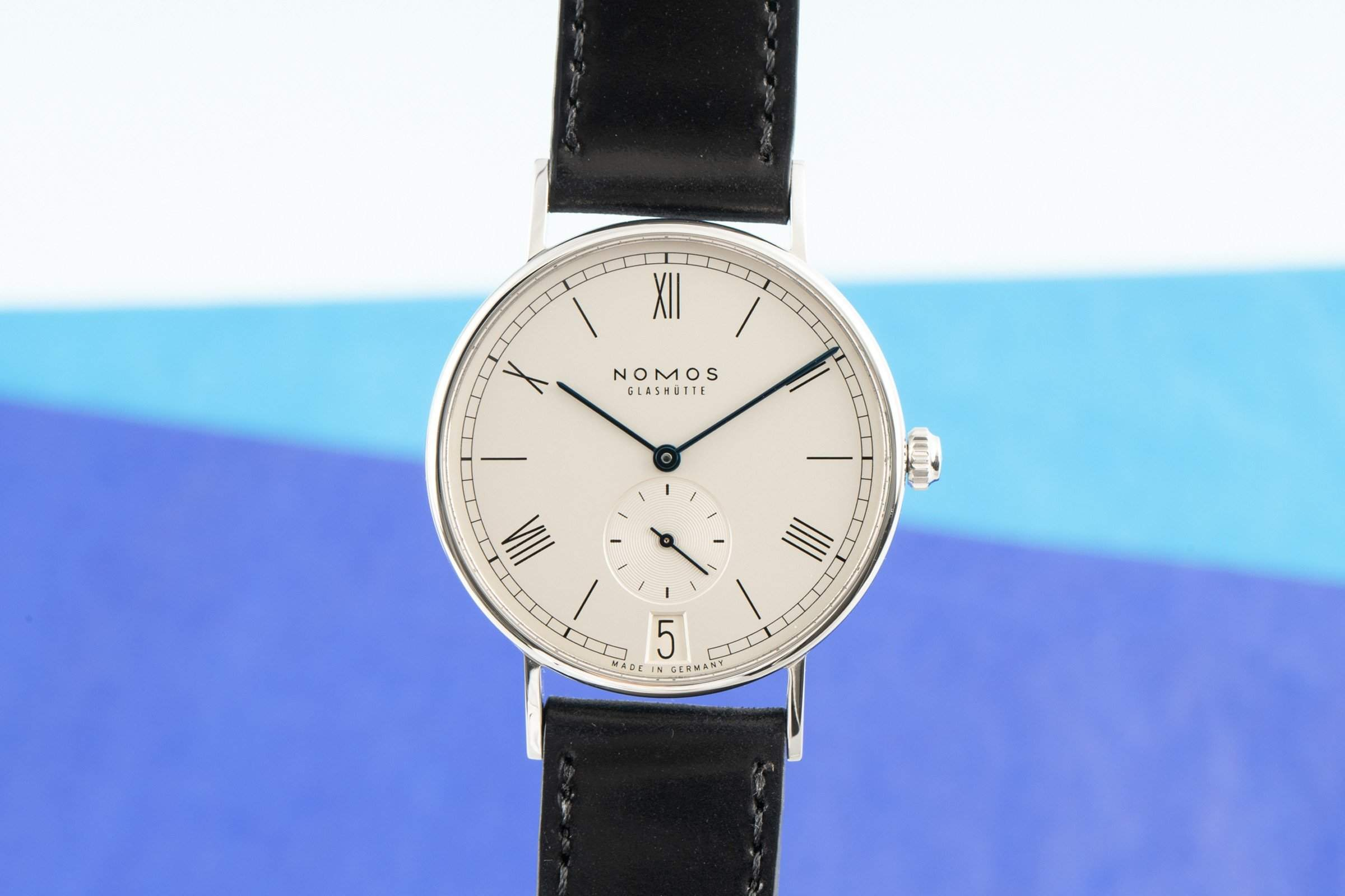 """The NOMOS Ludwig 38: a dress watch """"Made in Germany"""""""