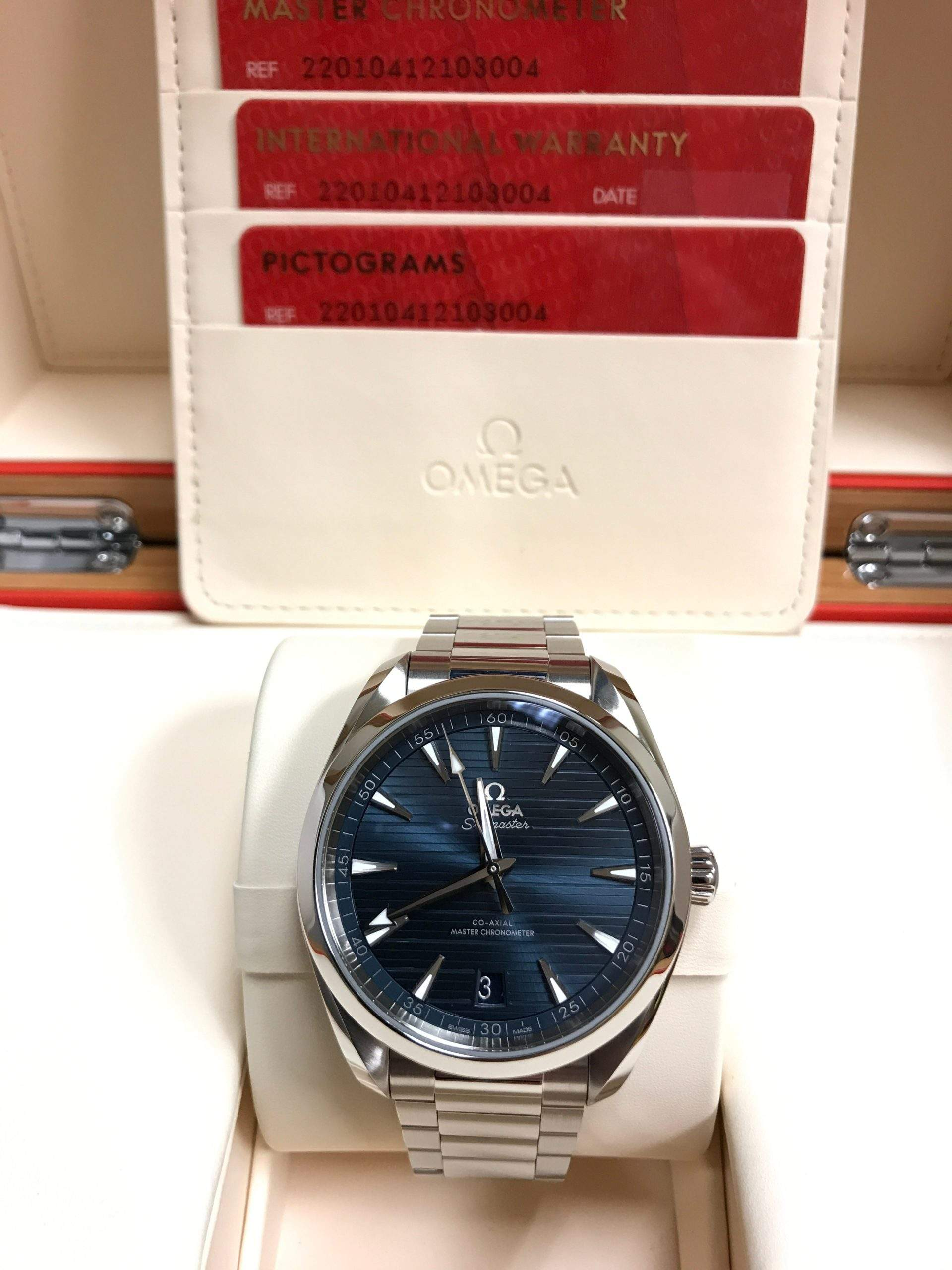 The Omega Seamaster Aqua Terra blends great design with modern technology and is the perfect watch for everyday use.
