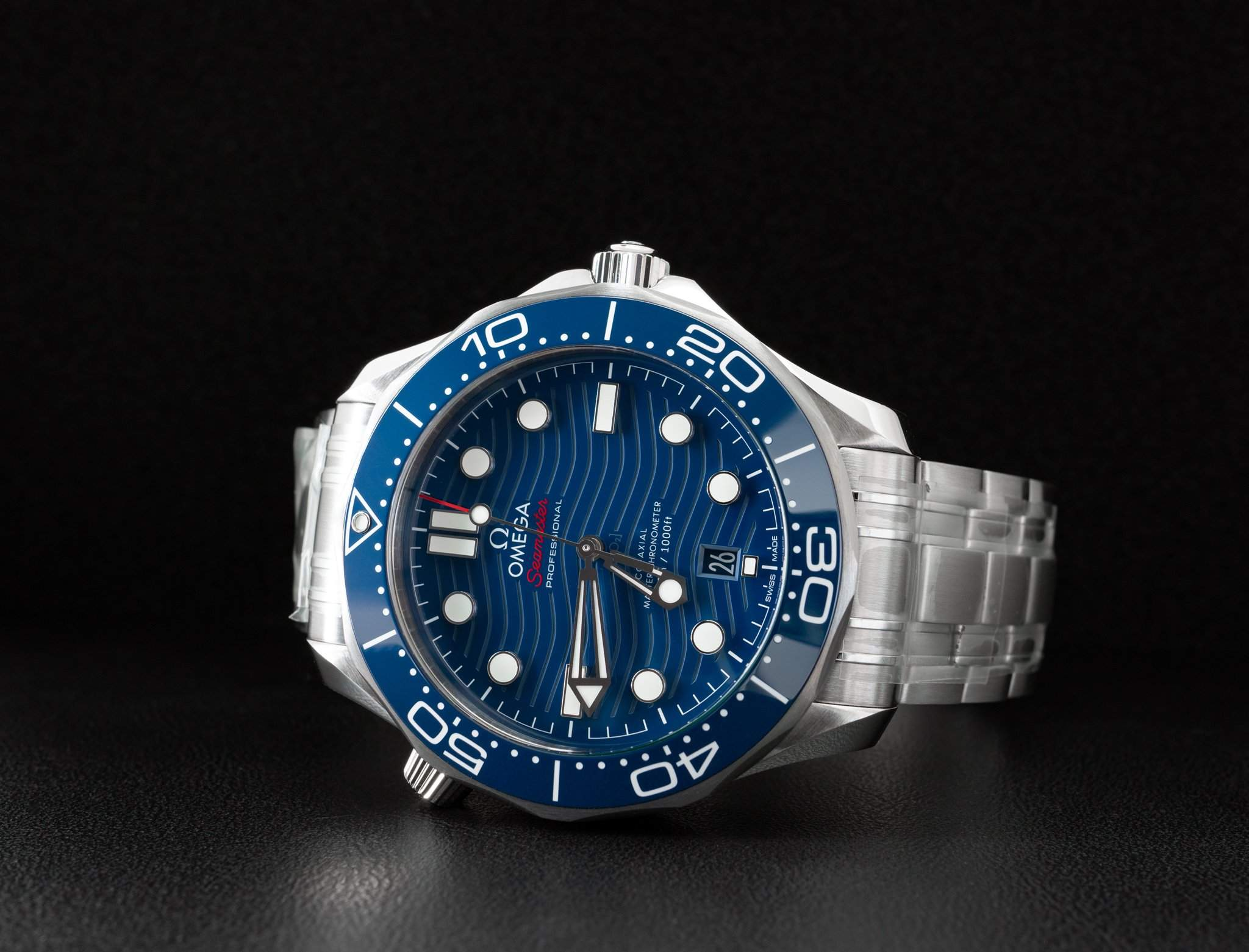 The Omega Seamaster 300M has a unique and refreshing dial design.