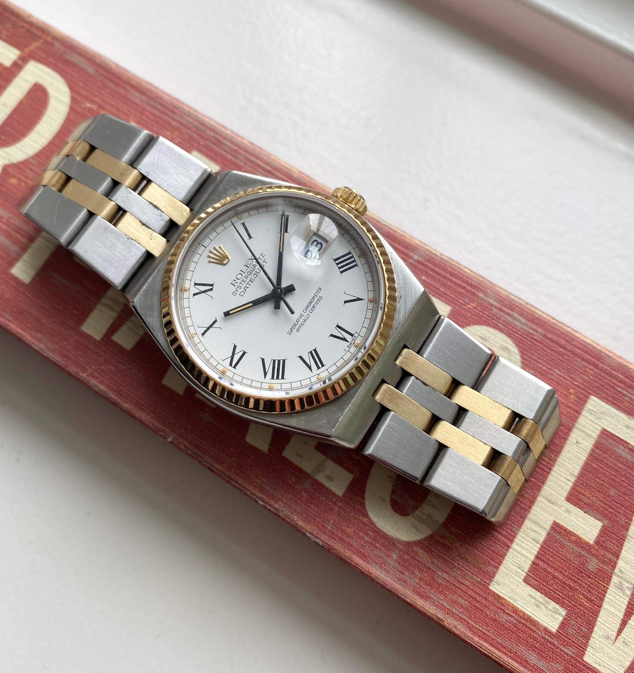 The Rolex Datejust Oysterquartz